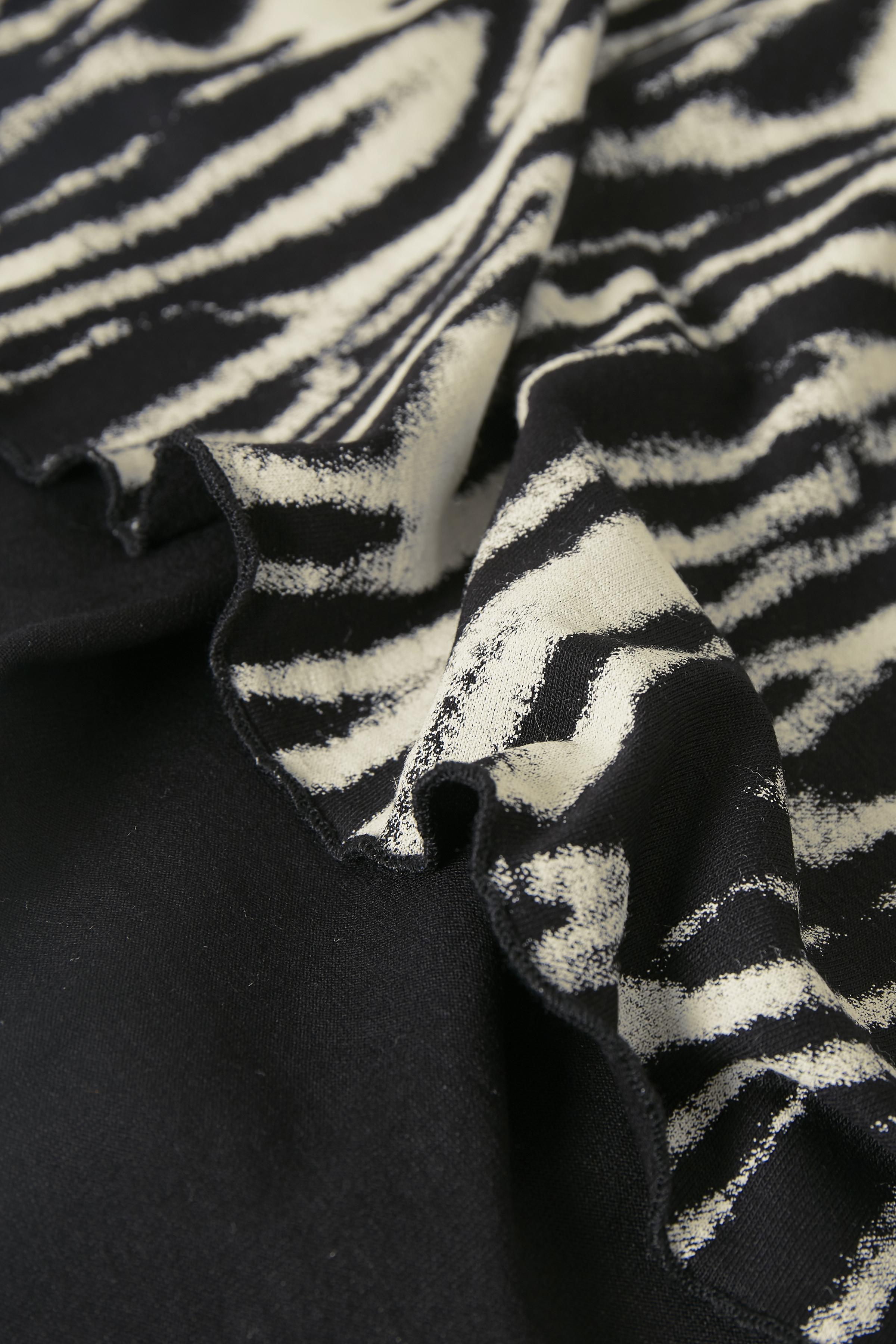Sort/grå Kjole fra Bon'A Parte – Køb Sort/grå Kjole fra str. S-2XL her
