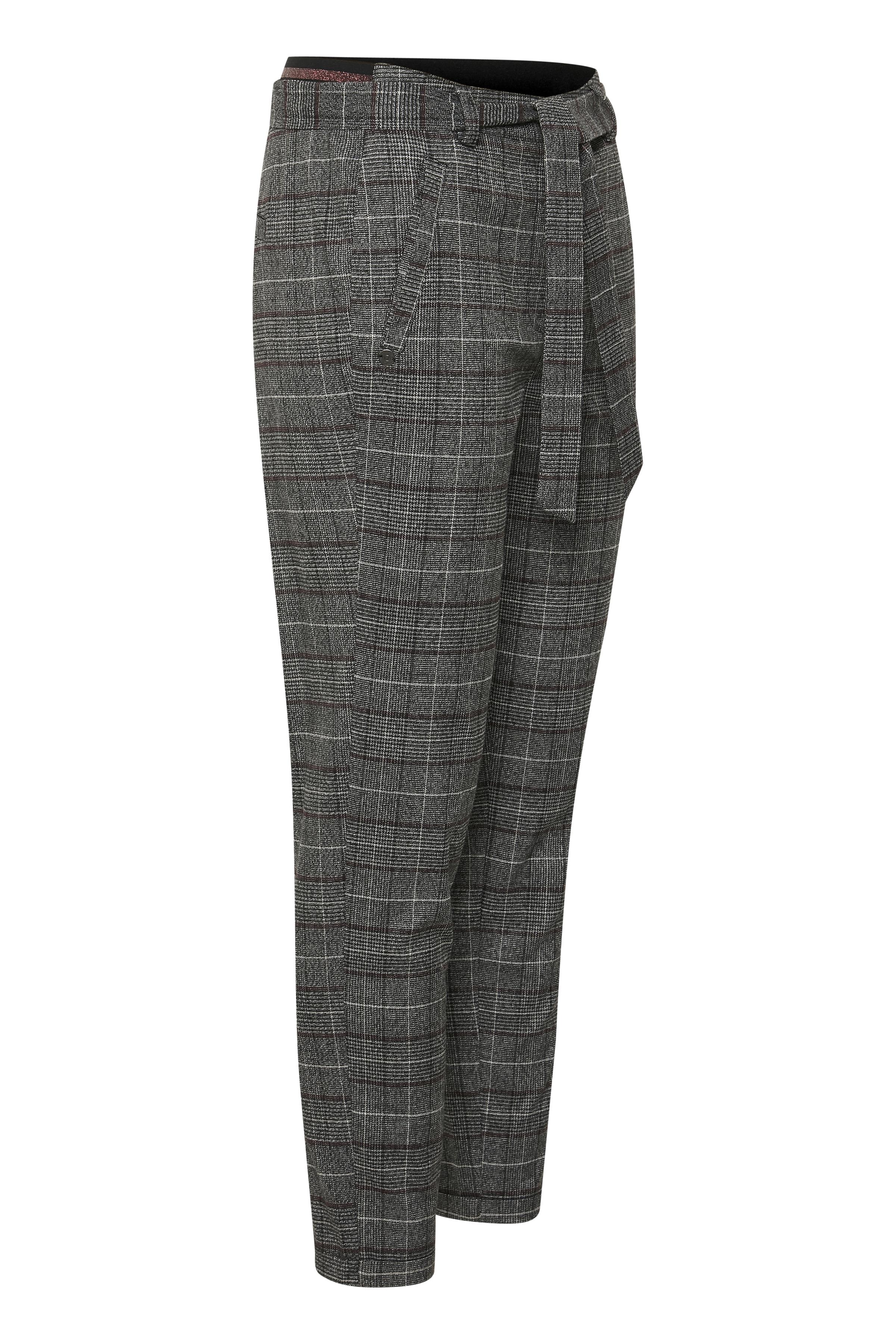 Sort/hvid Casual bukser fra Dranella – Køb Sort/hvid Casual bukser fra str. 32-46 her