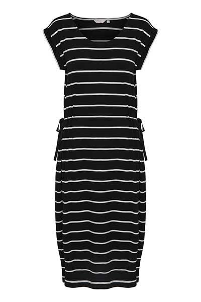 BonA Parte Dame Skøn Ipanema kjole - Sort/hvid