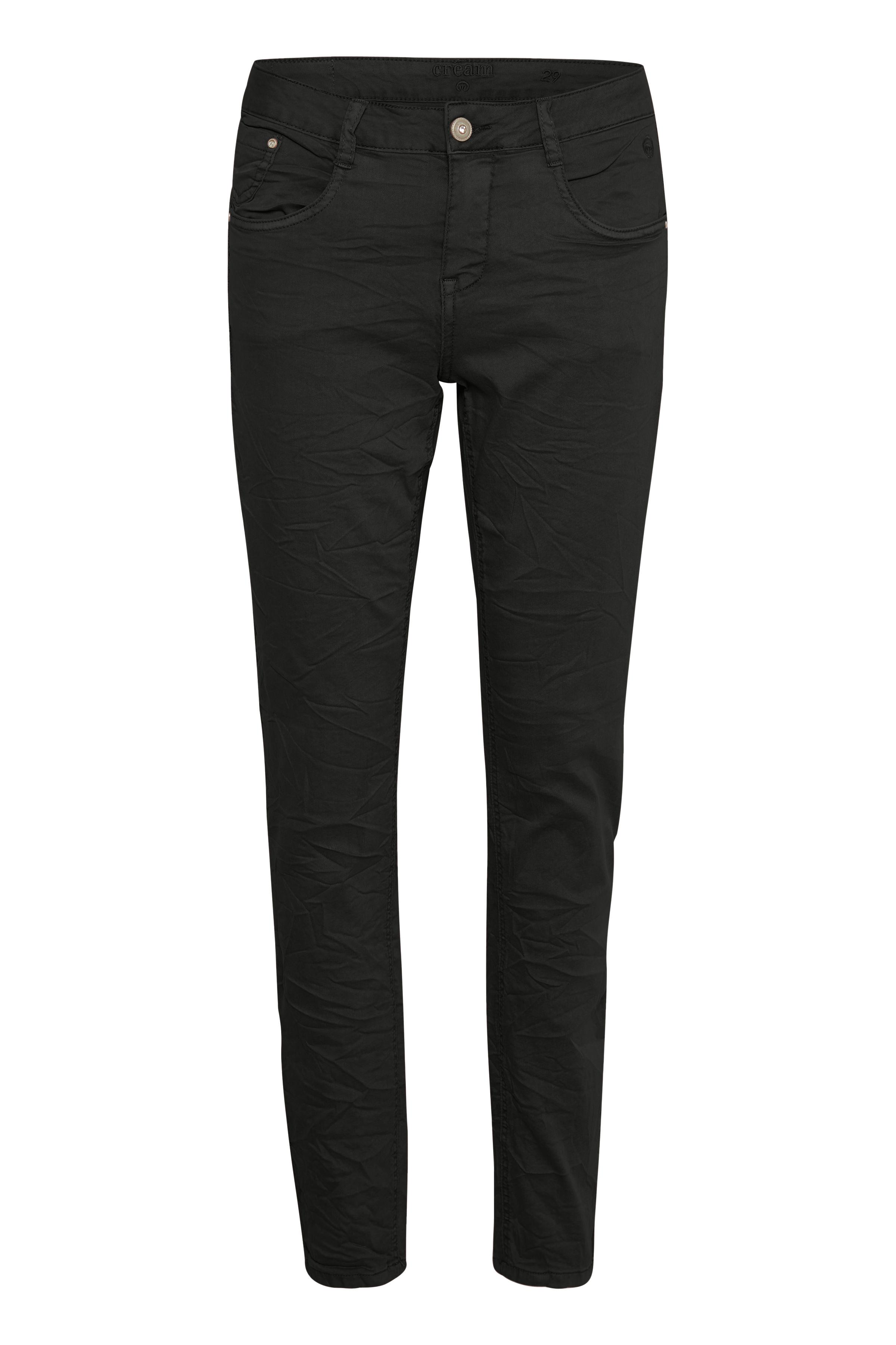 Image of Cream Dame Normal pasformet Lotte jeans - Sort