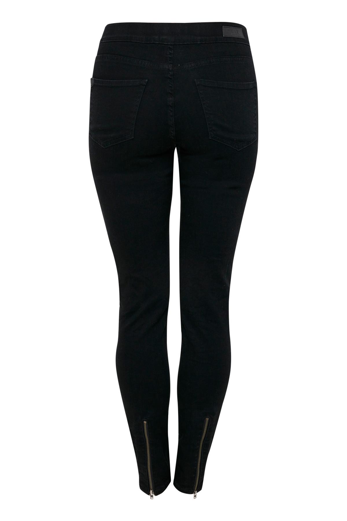 Sort Jeans fra Pulz Jeans – Køb Sort Jeans fra str. 25-34 her