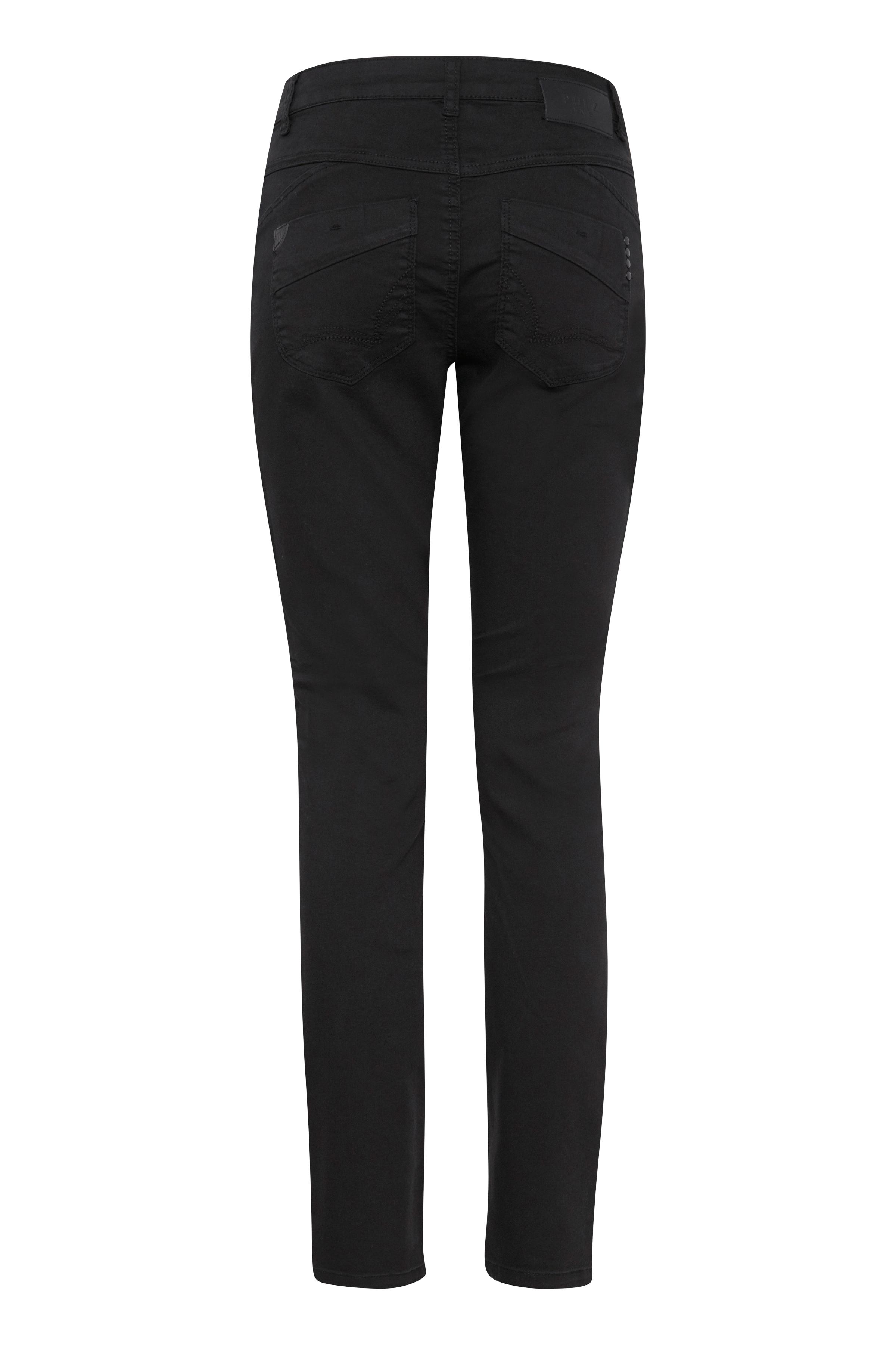 Sort Jeans fra Pulz Jeans – Køb Sort Jeans fra str. 25-35 her
