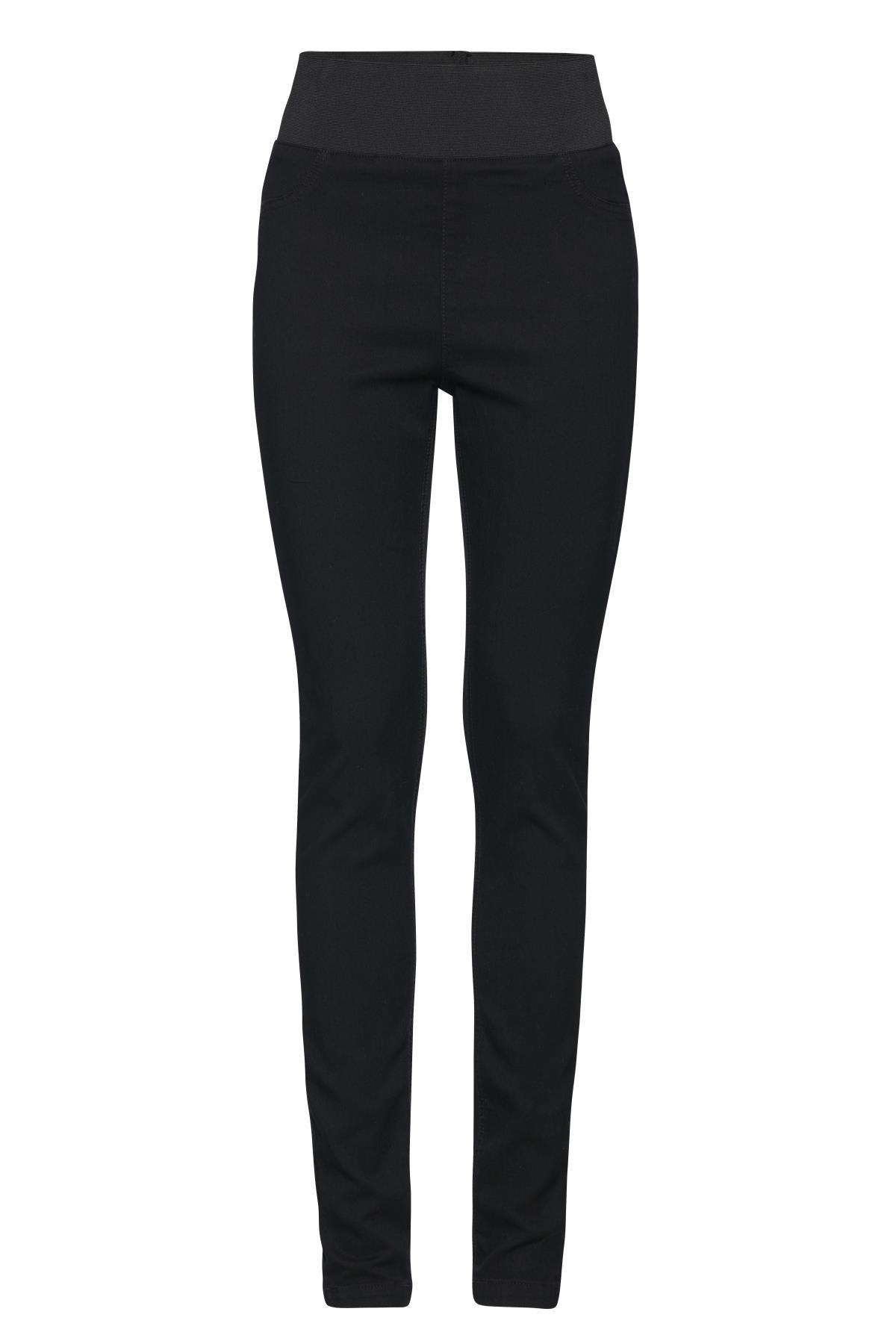 Sort Jeans fra b.young – Køb Sort Jeans fra str. 25-36 her