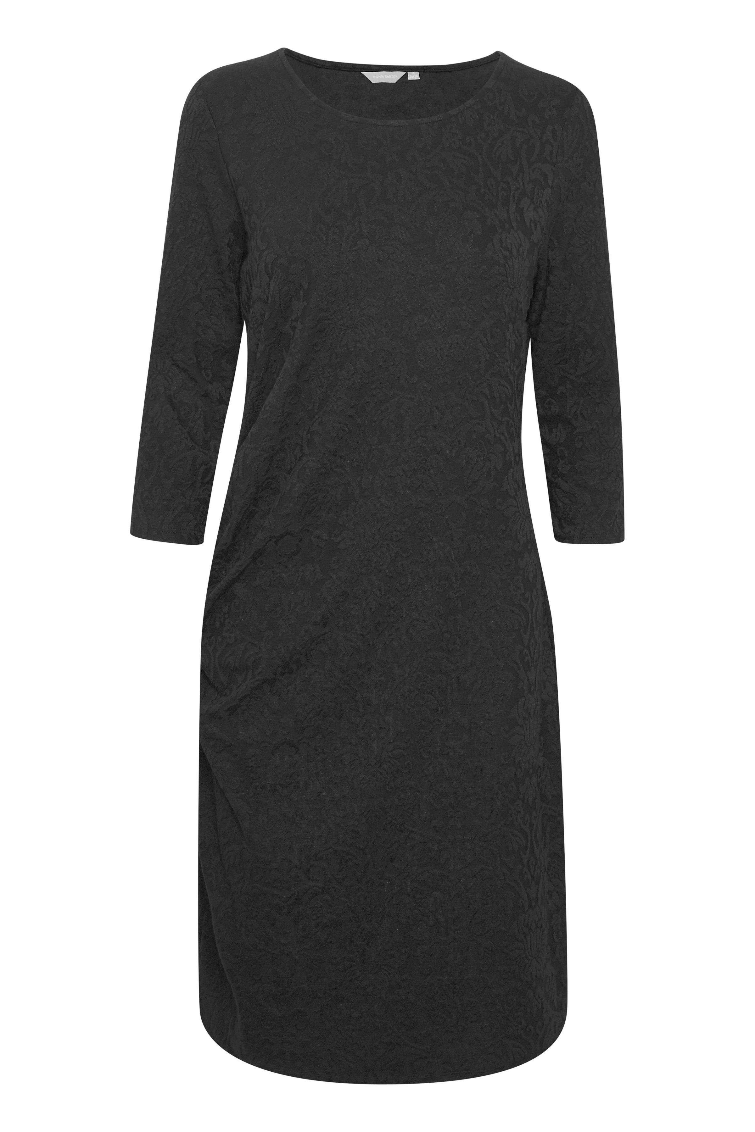 Image of BonA Parte Dame Kjole i jaquard-printet jersey kvalitet. Kjolen - Sort