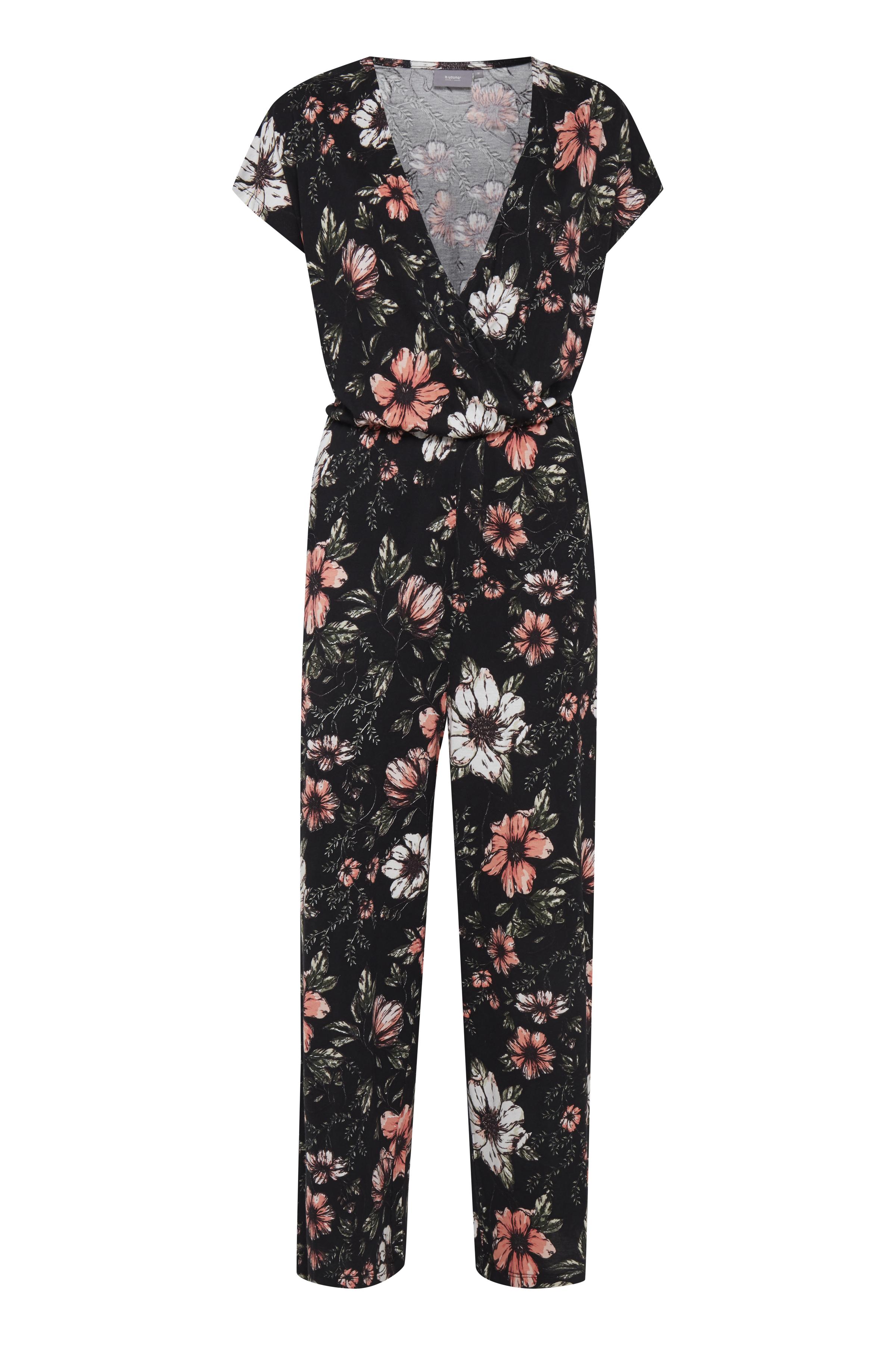 b.young Dame Jumpsuits - Sort/koral