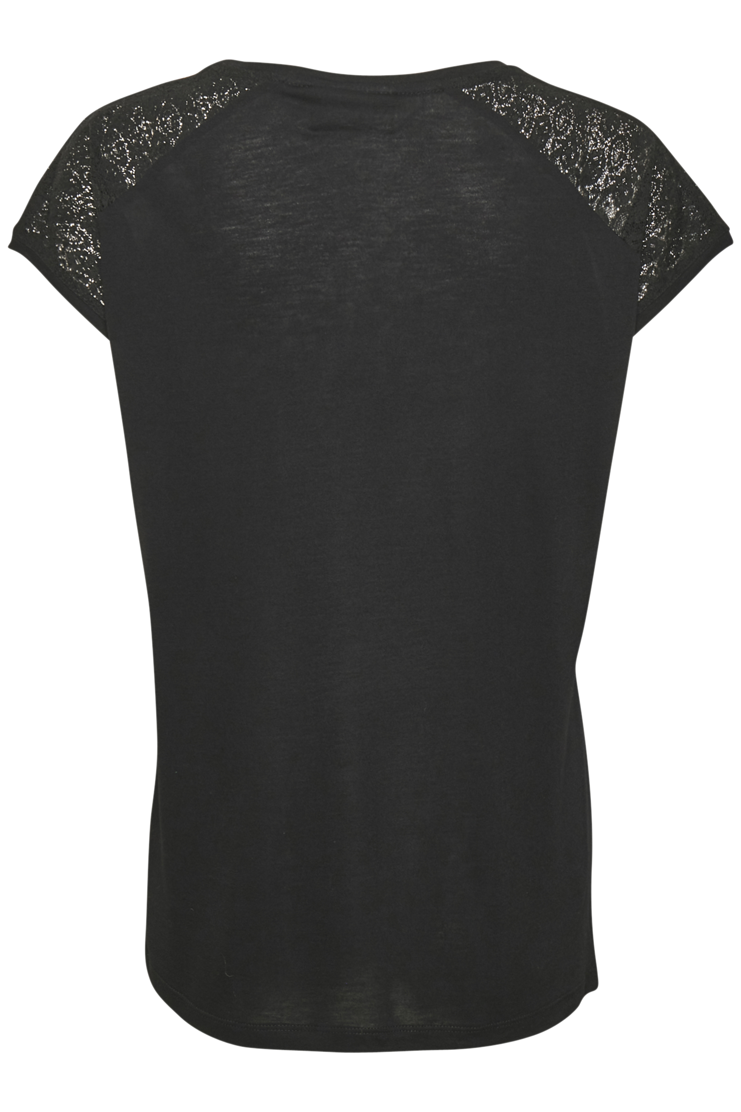 Sort Kortærmet T-shirt fra Kaffe – Køb Sort Kortærmet T-shirt fra str. XS-XXL her