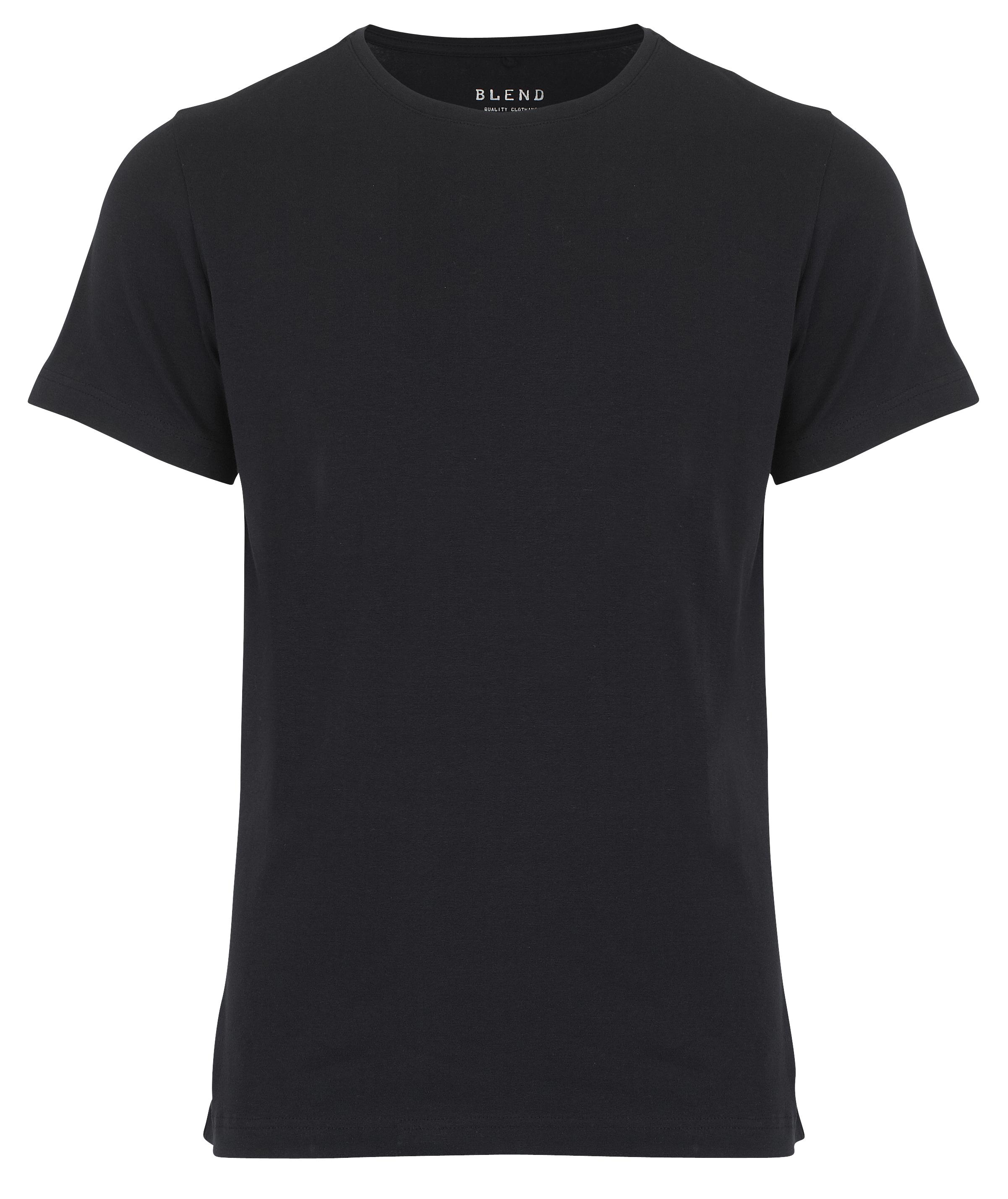 Image of Blend He Herre Kortærmet T-shirt - Sort