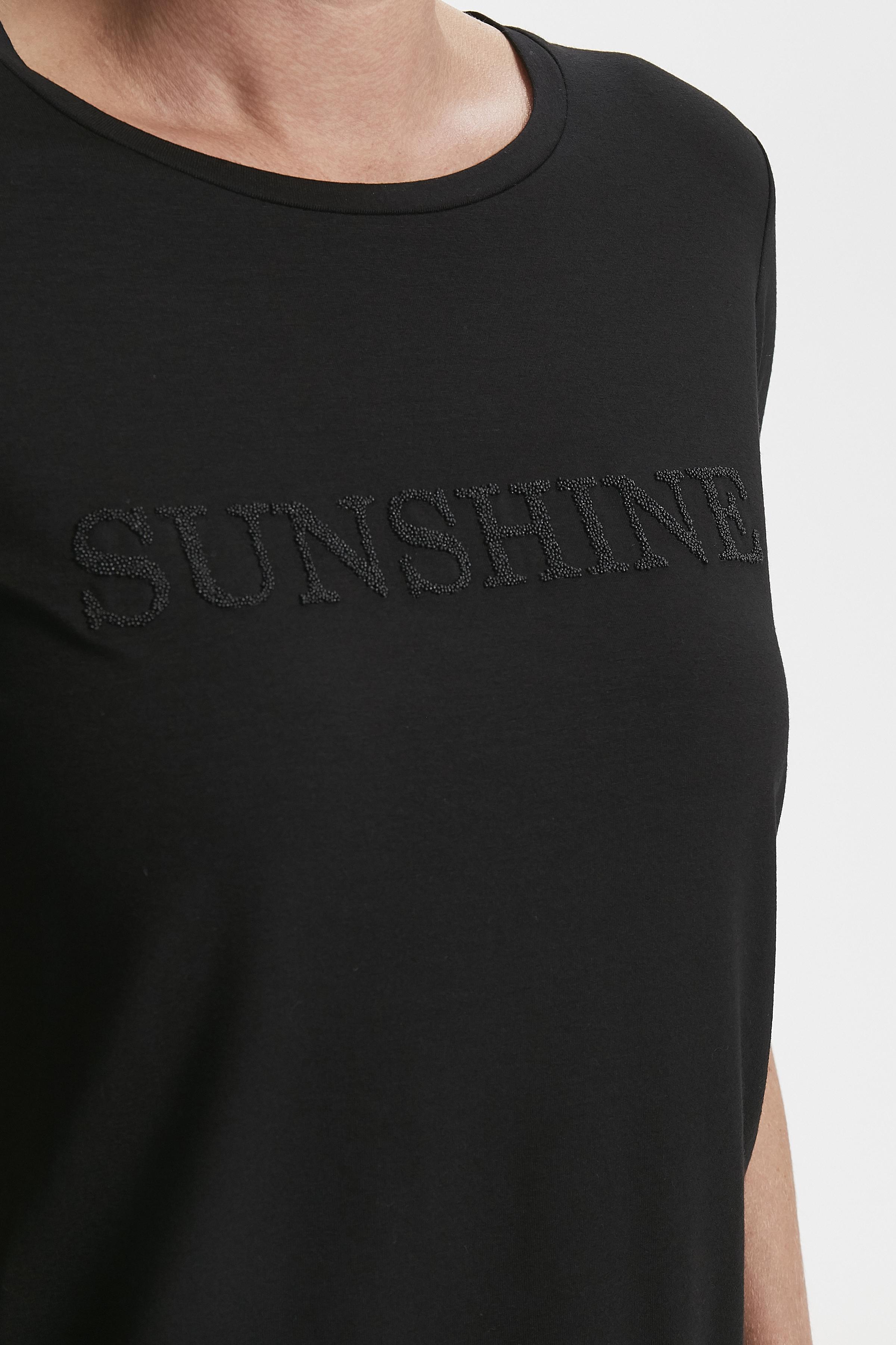 Sort Kortærmet T-shirt fra Bon'A Parte – Køb Sort Kortærmet T-shirt fra str. S-2XL her
