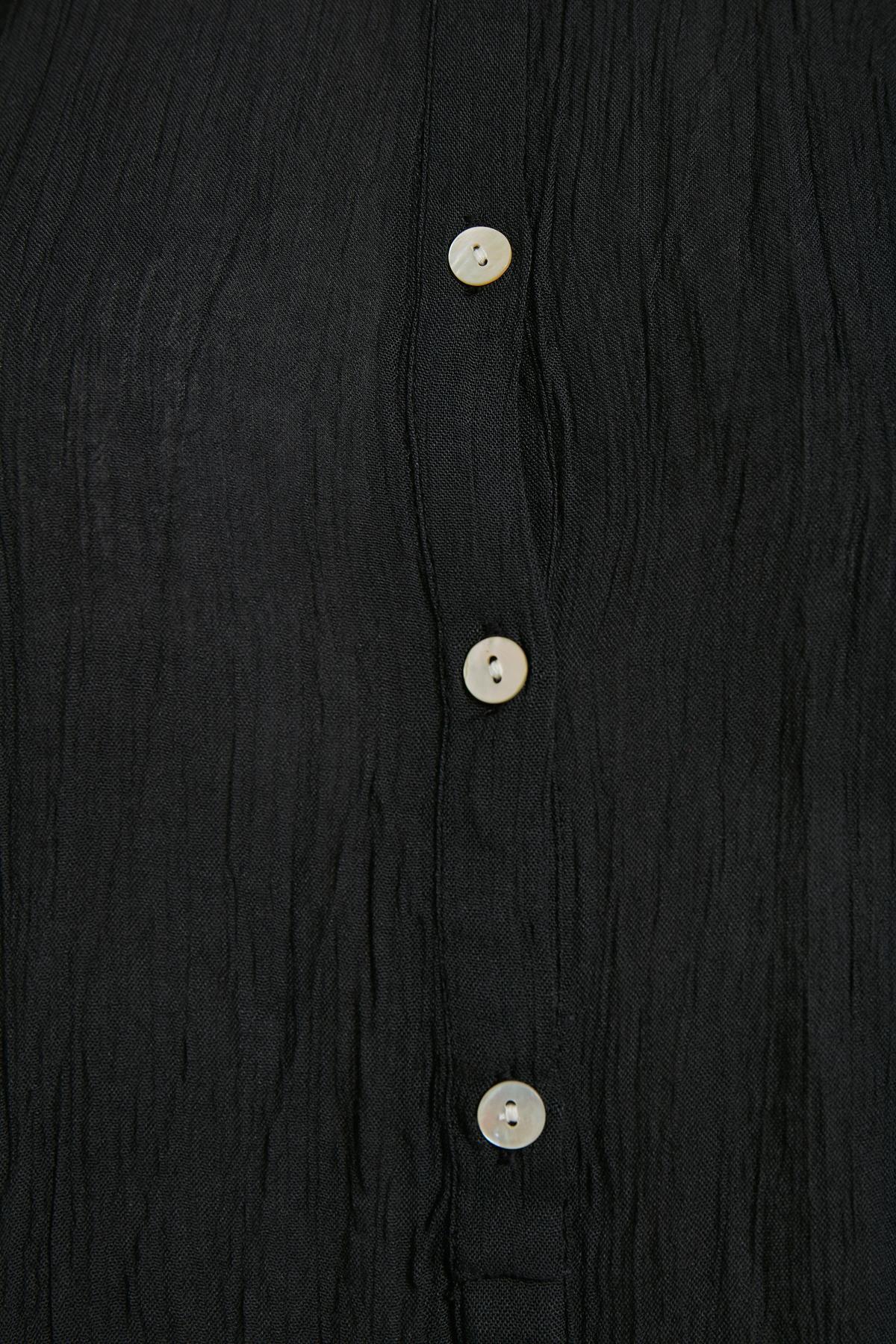 Sort Langærmet bluse fra Kaffe – Køb Sort Langærmet bluse fra str. 34-46 her