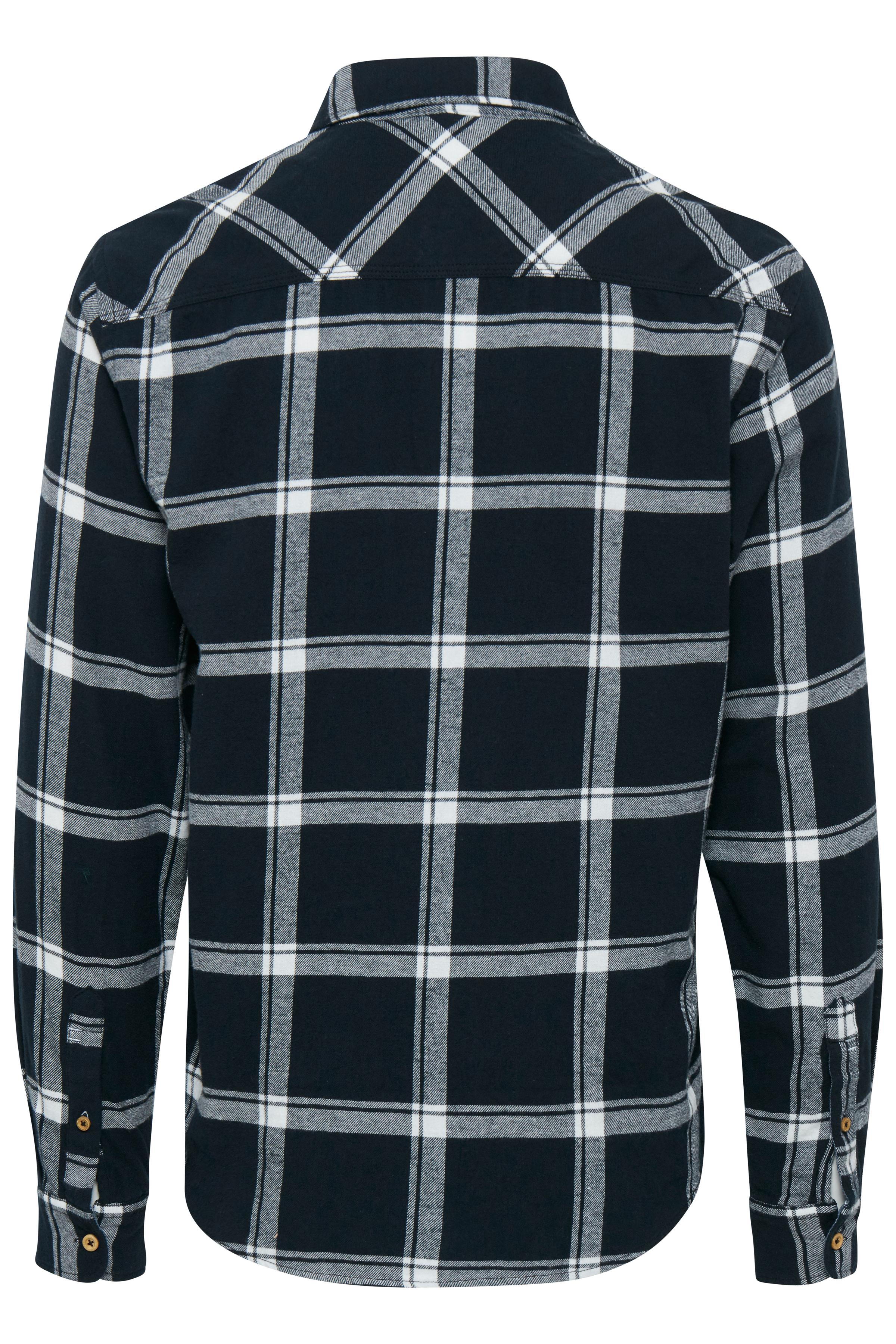 Sort Langærmet skjorte fra Blend He – Køb Sort Langærmet skjorte fra str. S-3XL her