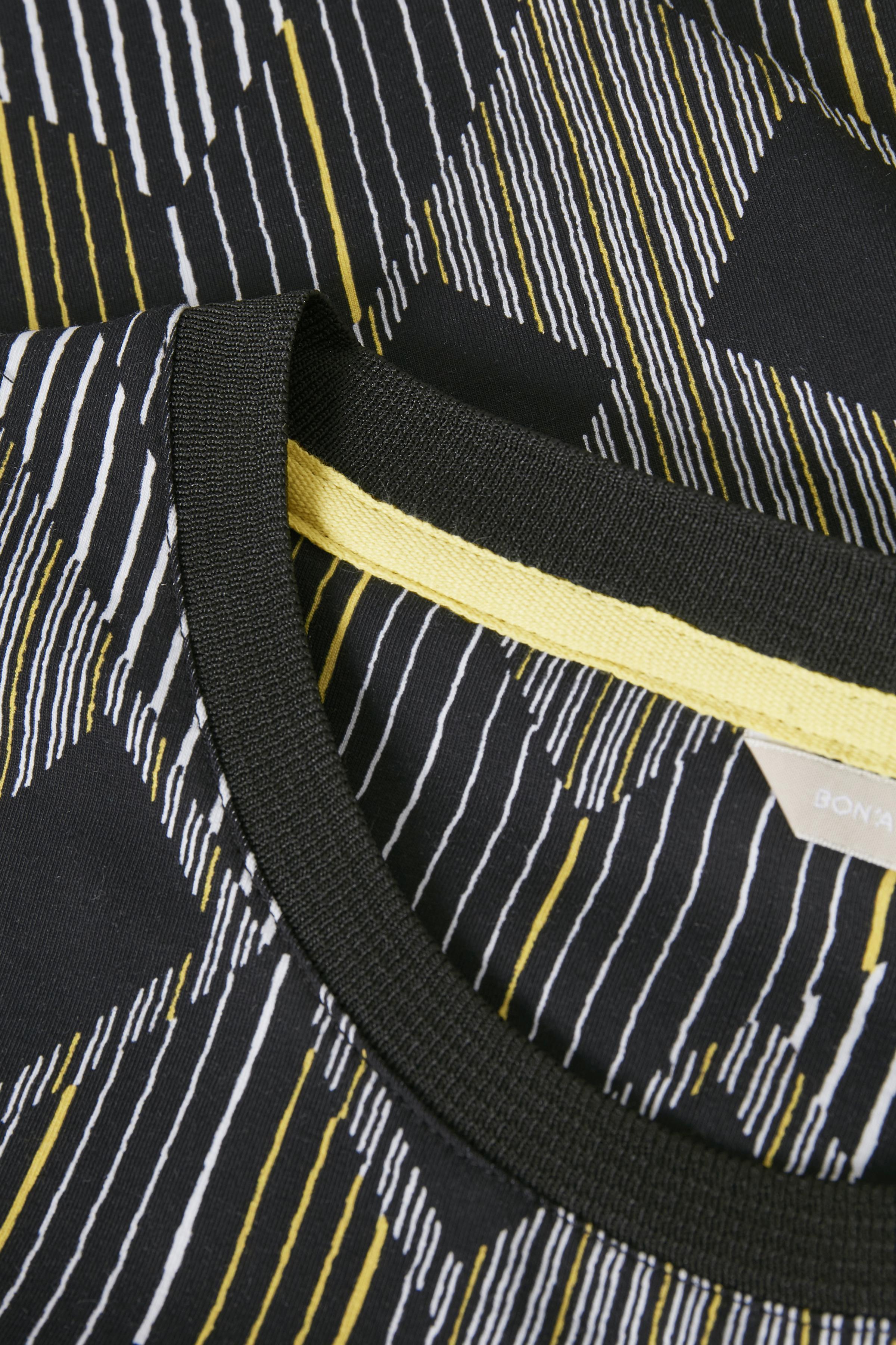 Sort/lys gul Kjole fra Bon'A Parte – Køb Sort/lys gul Kjole fra str. S-2XL her