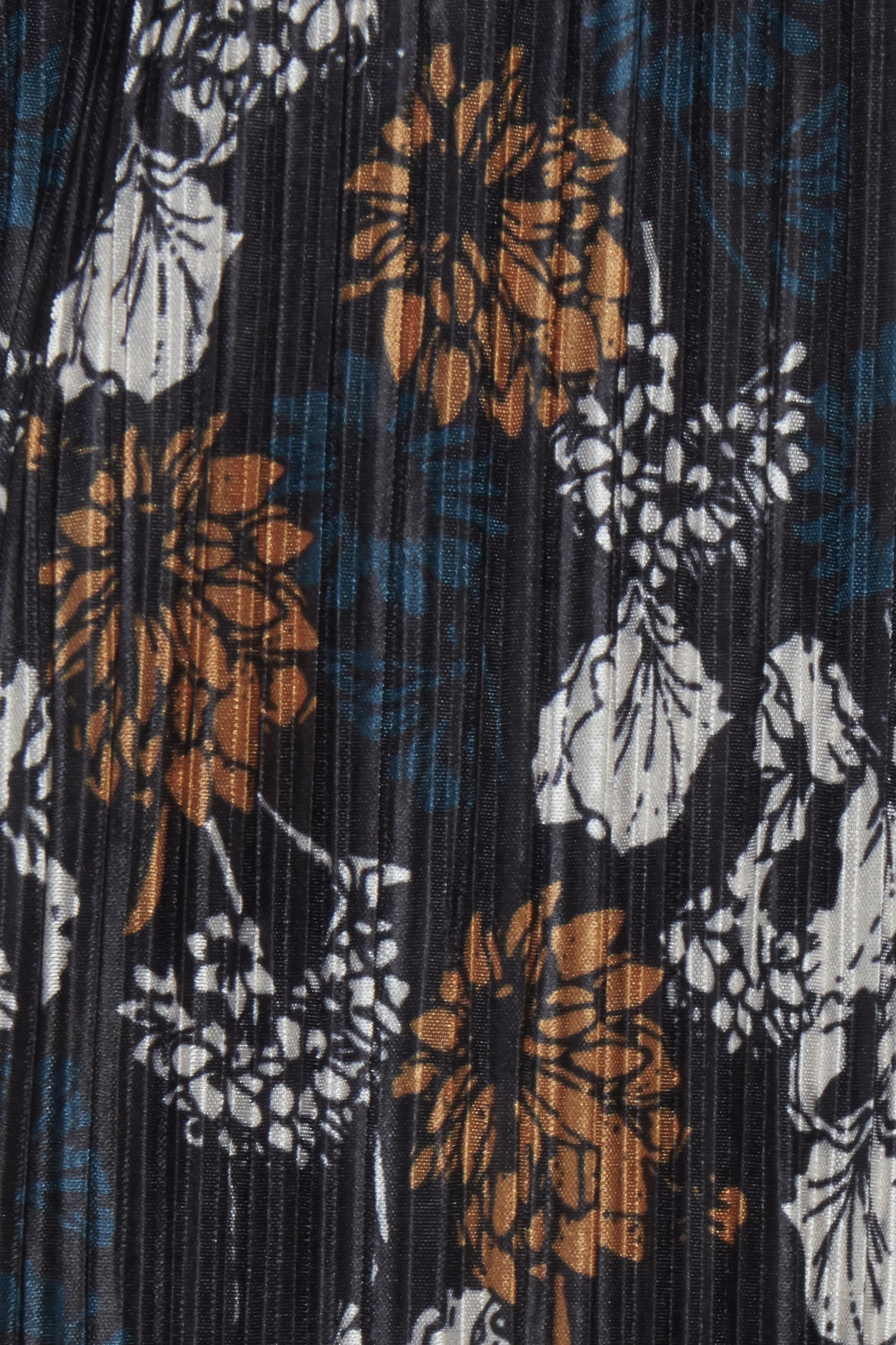 Sort/mørk karry Kortærmet bluse fra Fransa – Køb Sort/mørk karry Kortærmet bluse fra str. XS-XXL her