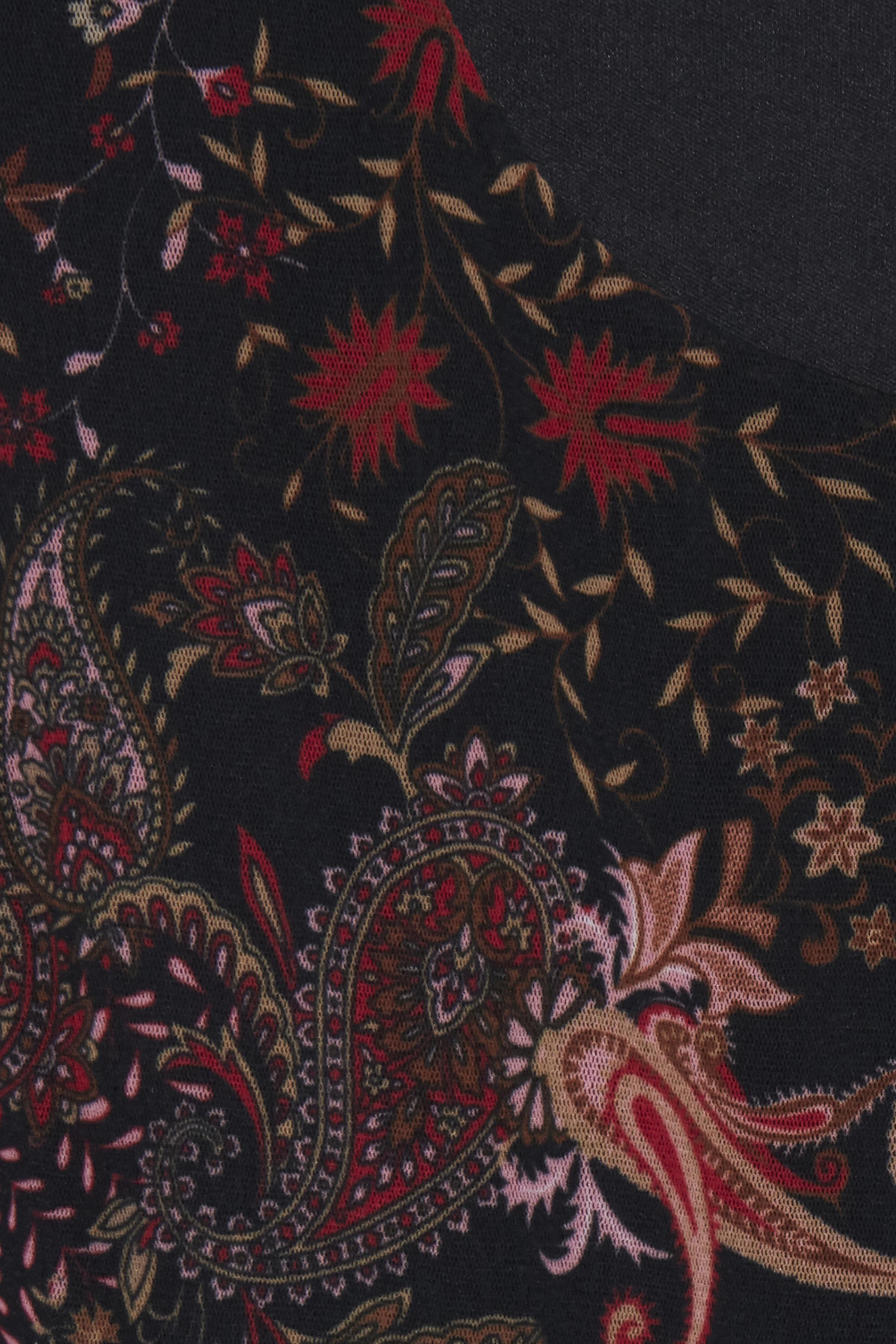 Sort/mørkerød Kjole fra Dranella – Køb Sort/mørkerød Kjole fra str. XS-XXL her