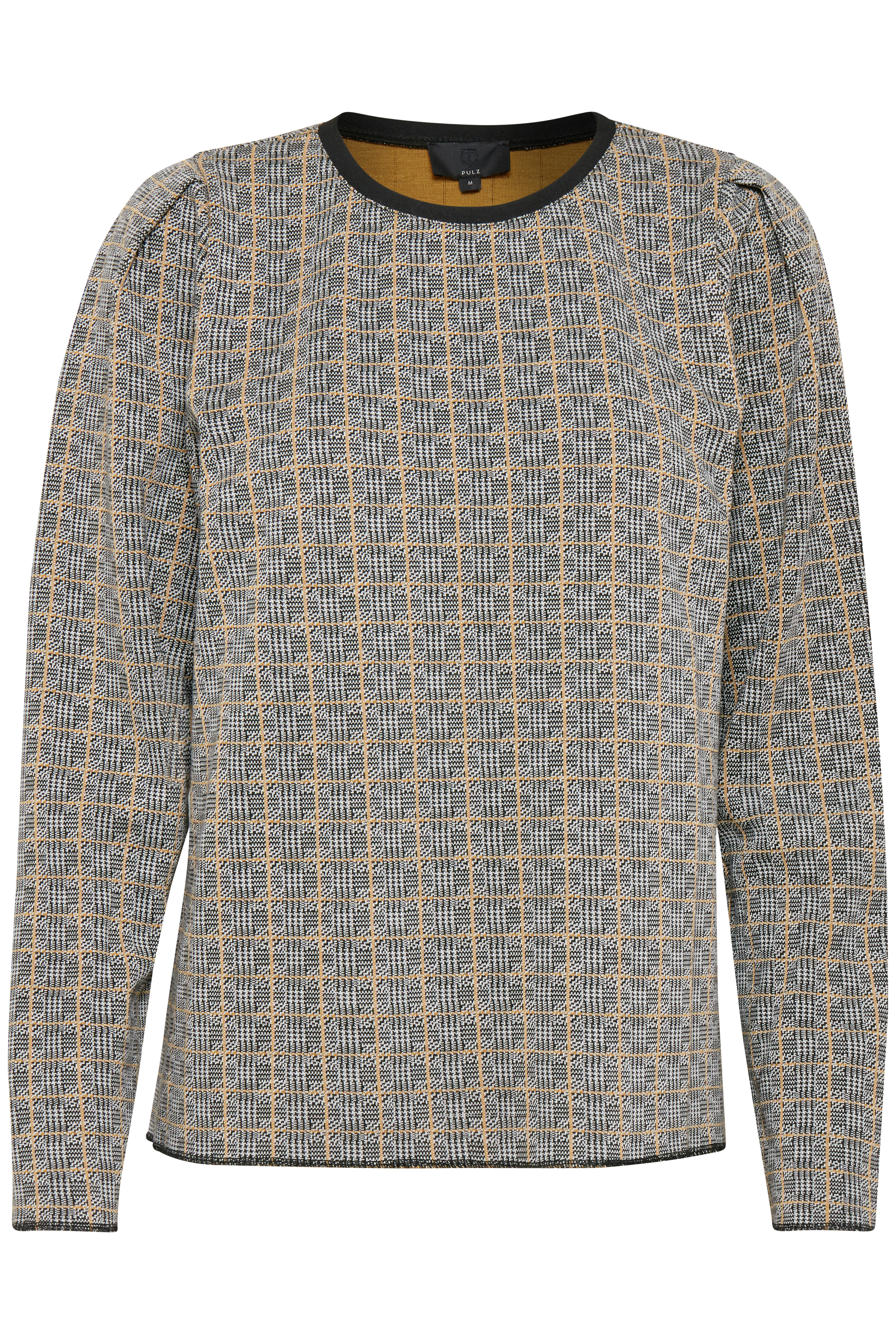 Pulz Jeans Dame Sweatshirt - Sort/off-white