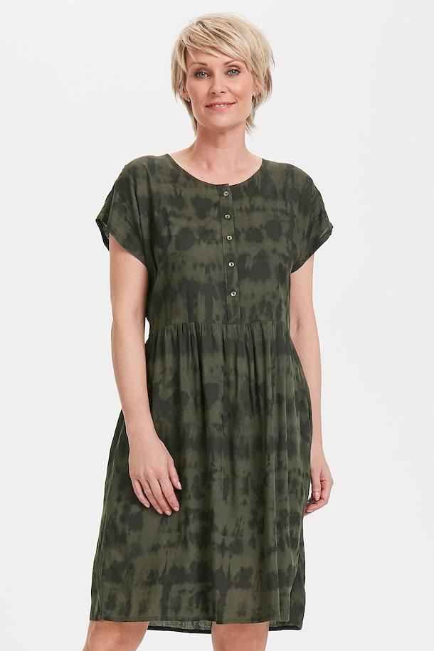 04e9db83349a Sort oliven Kjole fra Bon A Parte – Køb Sort oliven Kjole fra str. S-2XL her