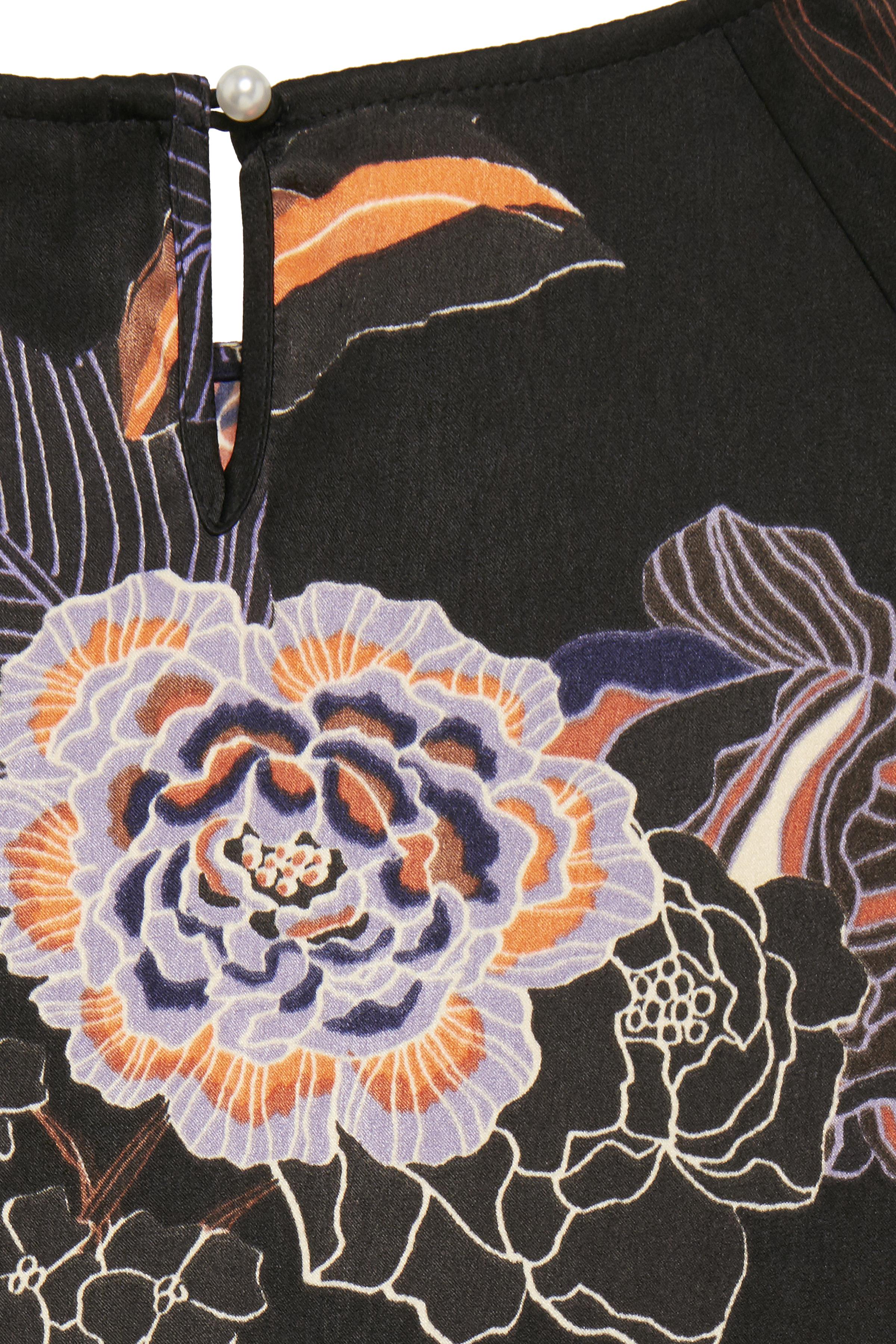 Sort/rød Kortærmet bluse fra Pulz Jeans – Køb Sort/rød Kortærmet bluse fra str. XS-XXL her