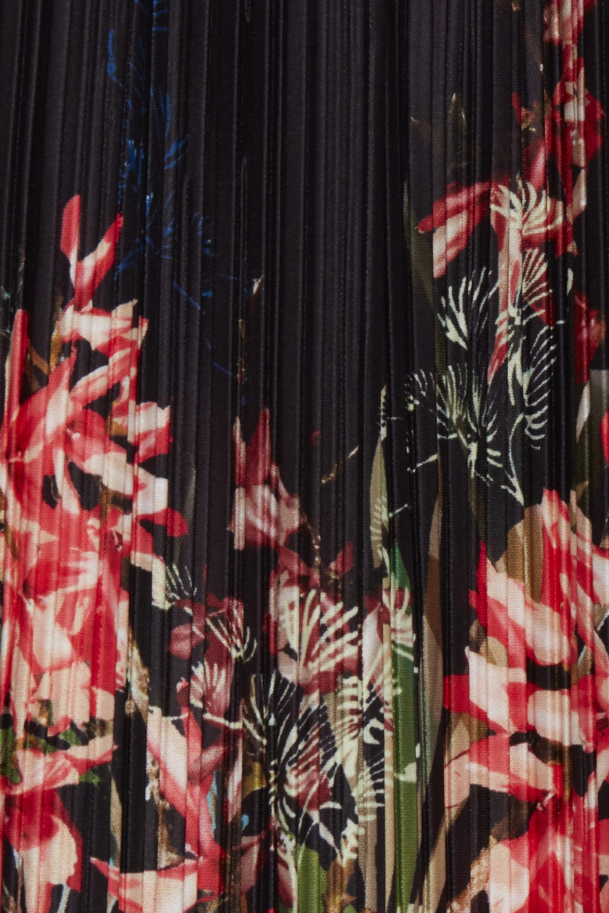 Sort/rød Nederdel fra Dranella – Køb Sort/rød Nederdel fra str. XS-XXL her