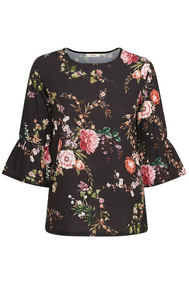 8fdb1946baab Sort rosa Bluse fra Dranella – Køb Sort rosa Bluse fra str. S-XXL her