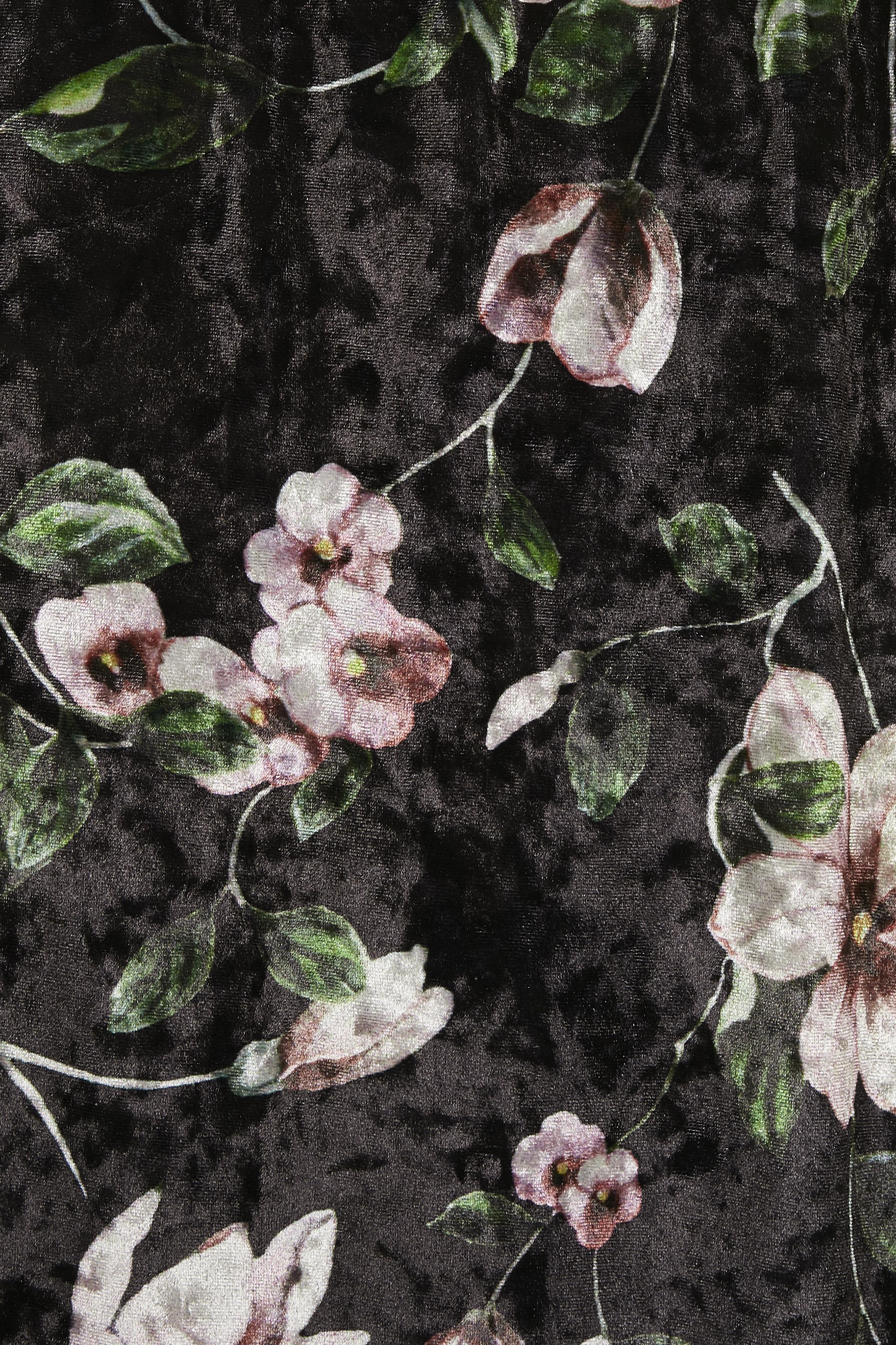 Sort/rosa Nederdel fra Bon'A Parte – Køb Sort/rosa Nederdel fra str. S-2XL her