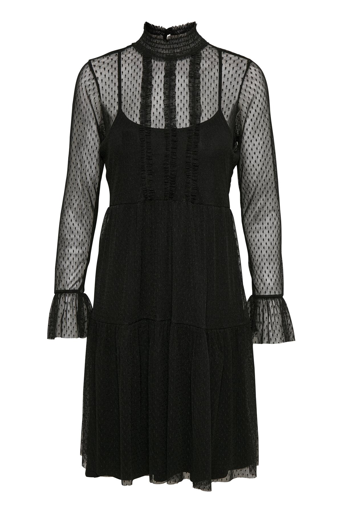 Cream Dame Cool Melle kjole - Sort