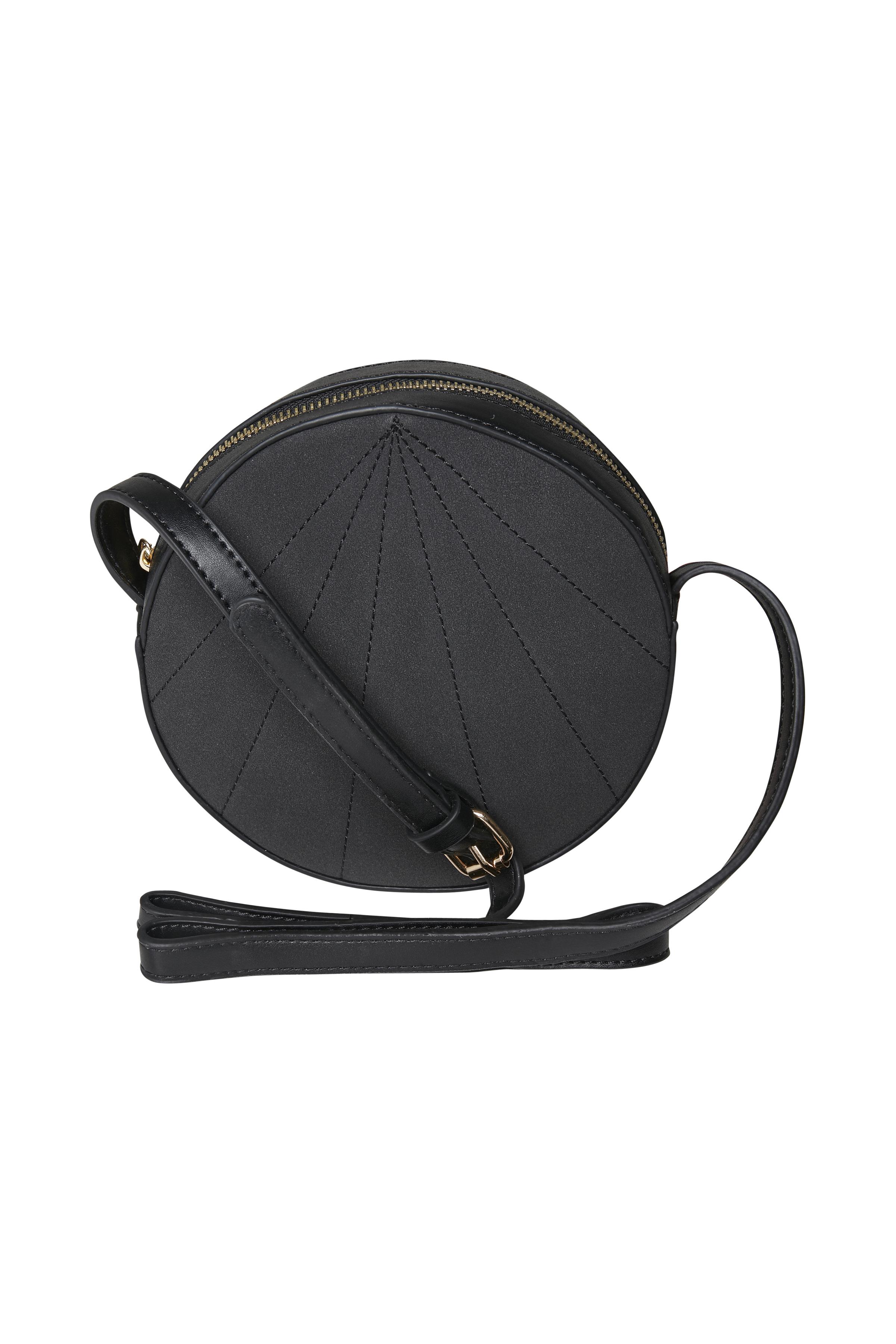 Image of   Ichi - accessories Dame Rund taske - Sort