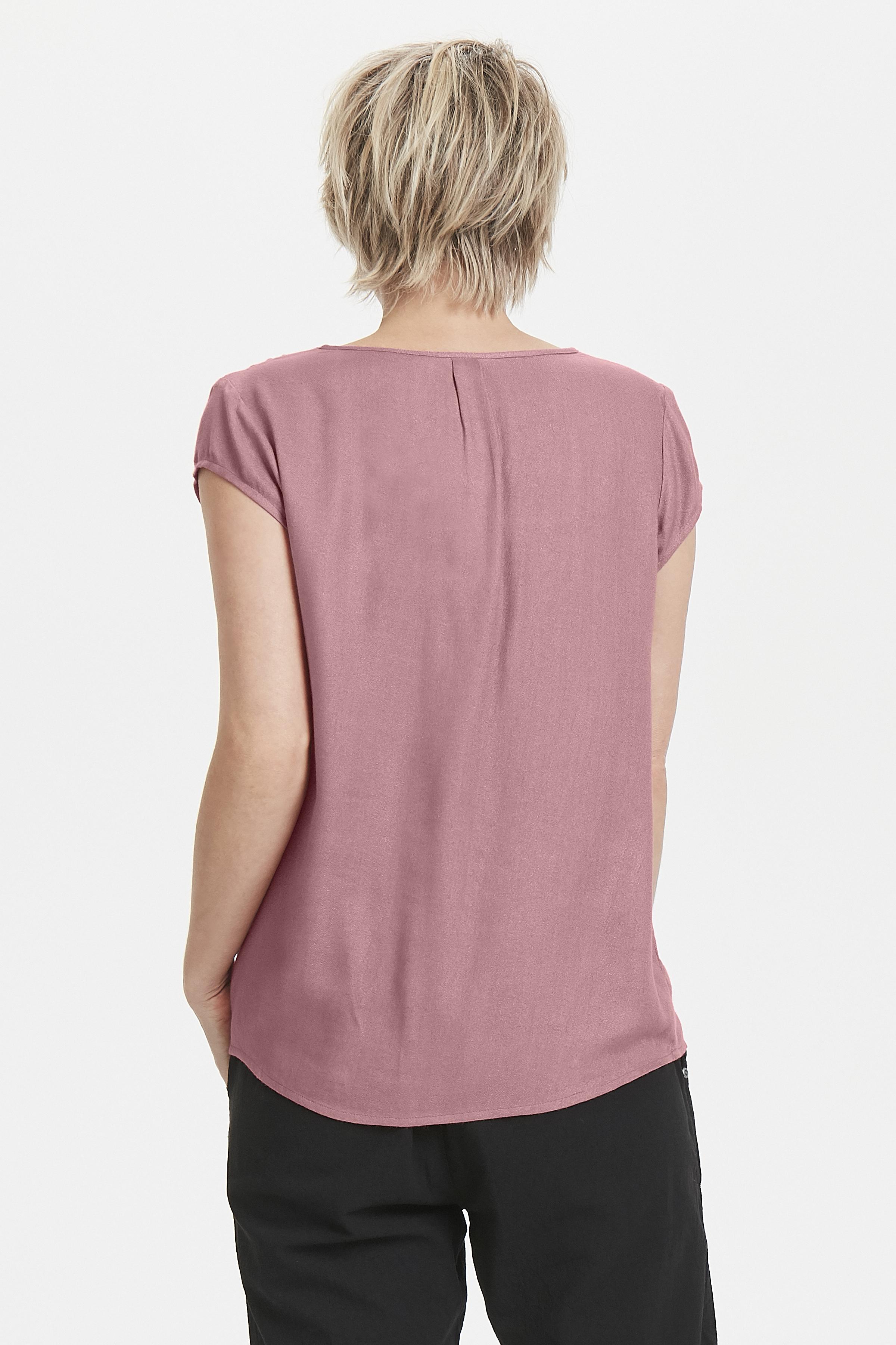 Staub erika Kurzarm-Bluse  von Bon'A Parte – Shoppen Sie Staub erika Kurzarm-Bluse  ab Gr. S-2XL hier