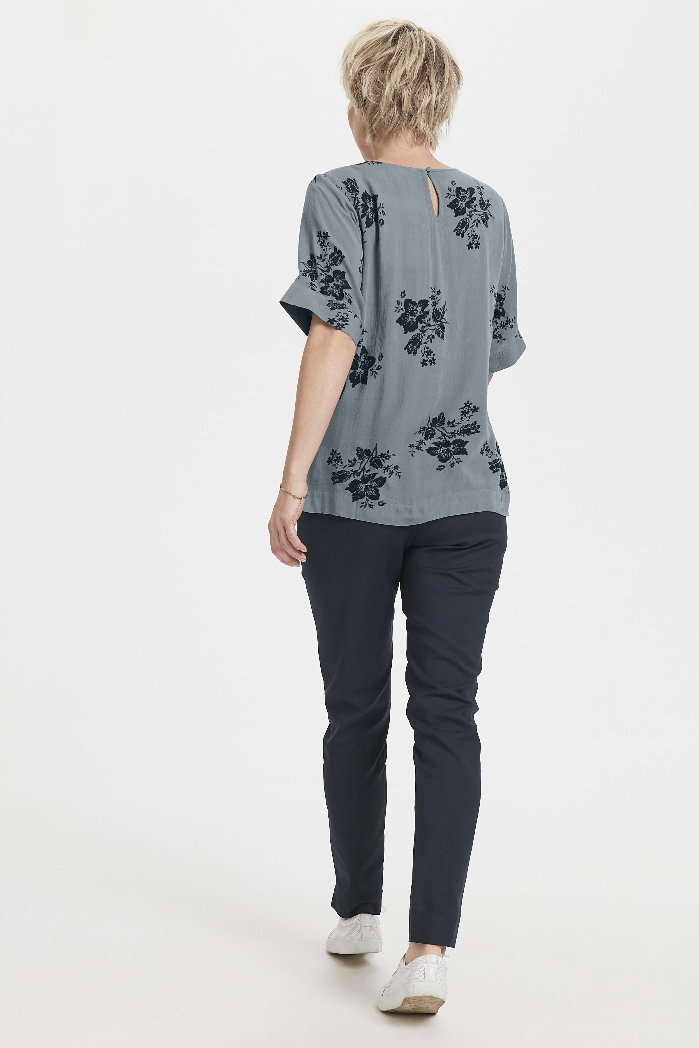 Staubblau/marineblau Bluse von Bon'A Parte – Shoppen SieStaubblau/marineblau Bluse ab Gr. S-2XL hier