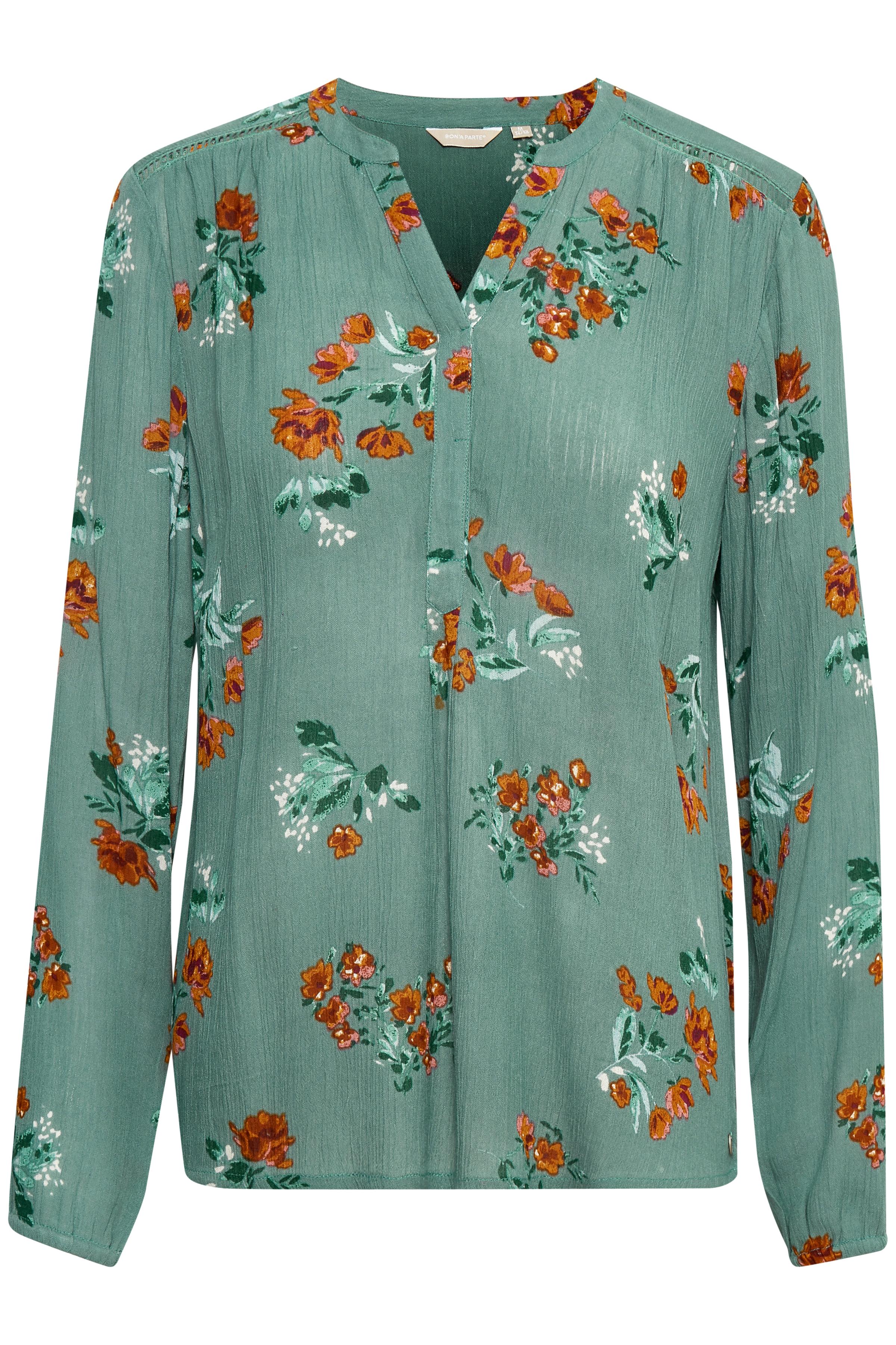 Staubopal Langarm-Bluse von Bon'A Parte – Shoppen Sie Staubopal Langarm-Bluse ab Gr. S-2XL hier