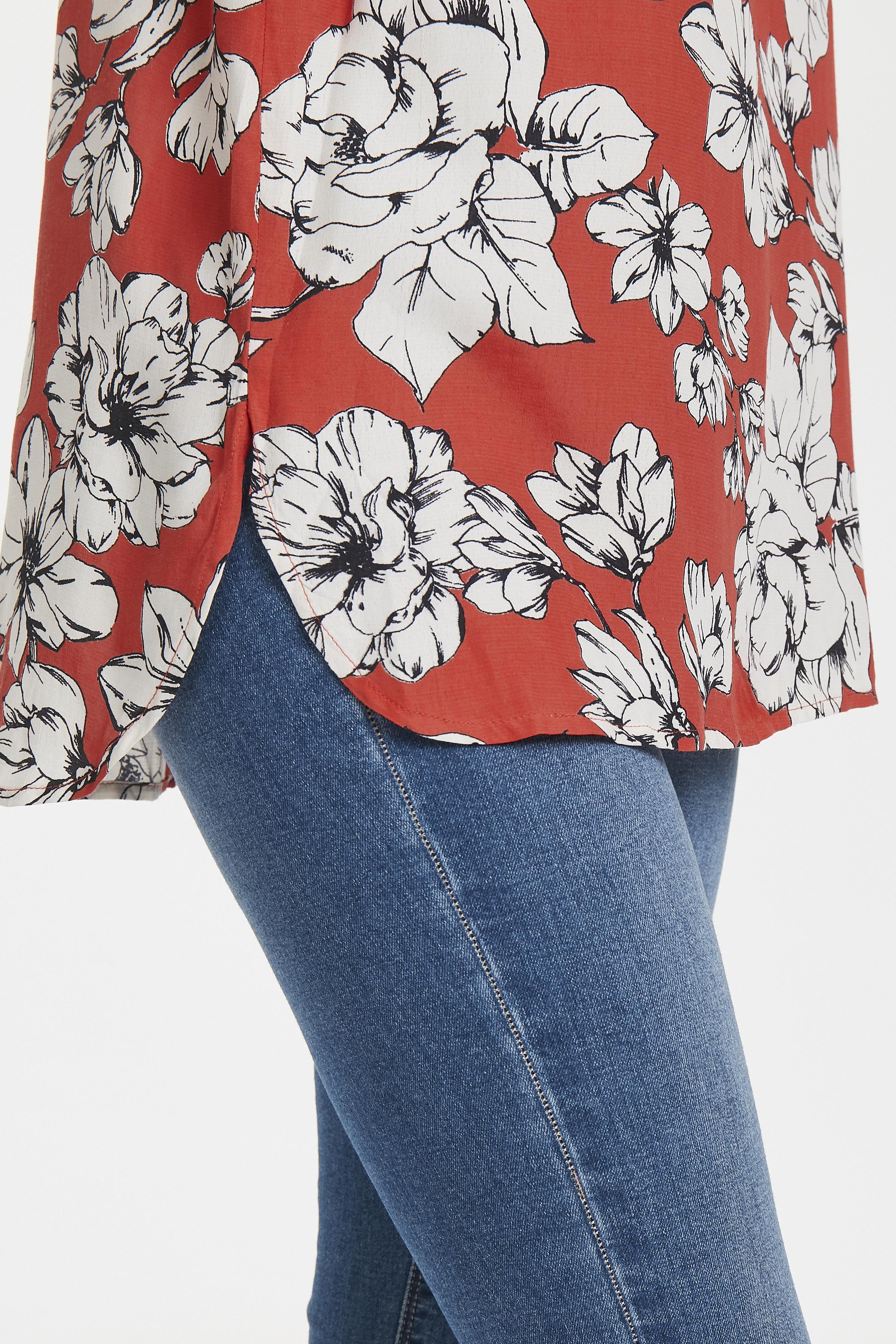 Staubrot/wollweiß Kurzarm-Bluse  von b.young – Shoppen Sie Staubrot/wollweiß Kurzarm-Bluse  ab Gr. 34-46 hier