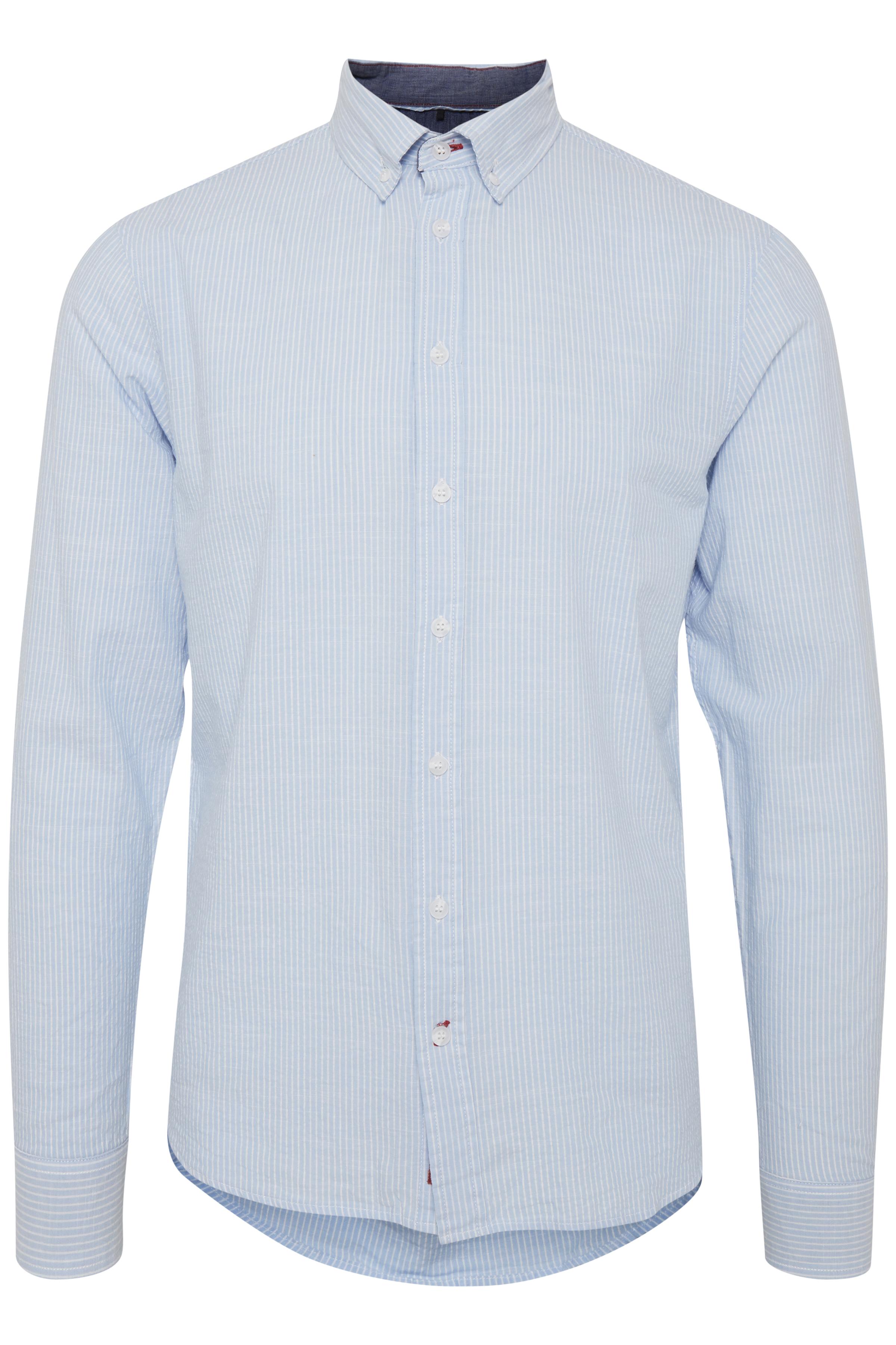Image of Blend He Herre Langærmet skjorte - Steel Blue