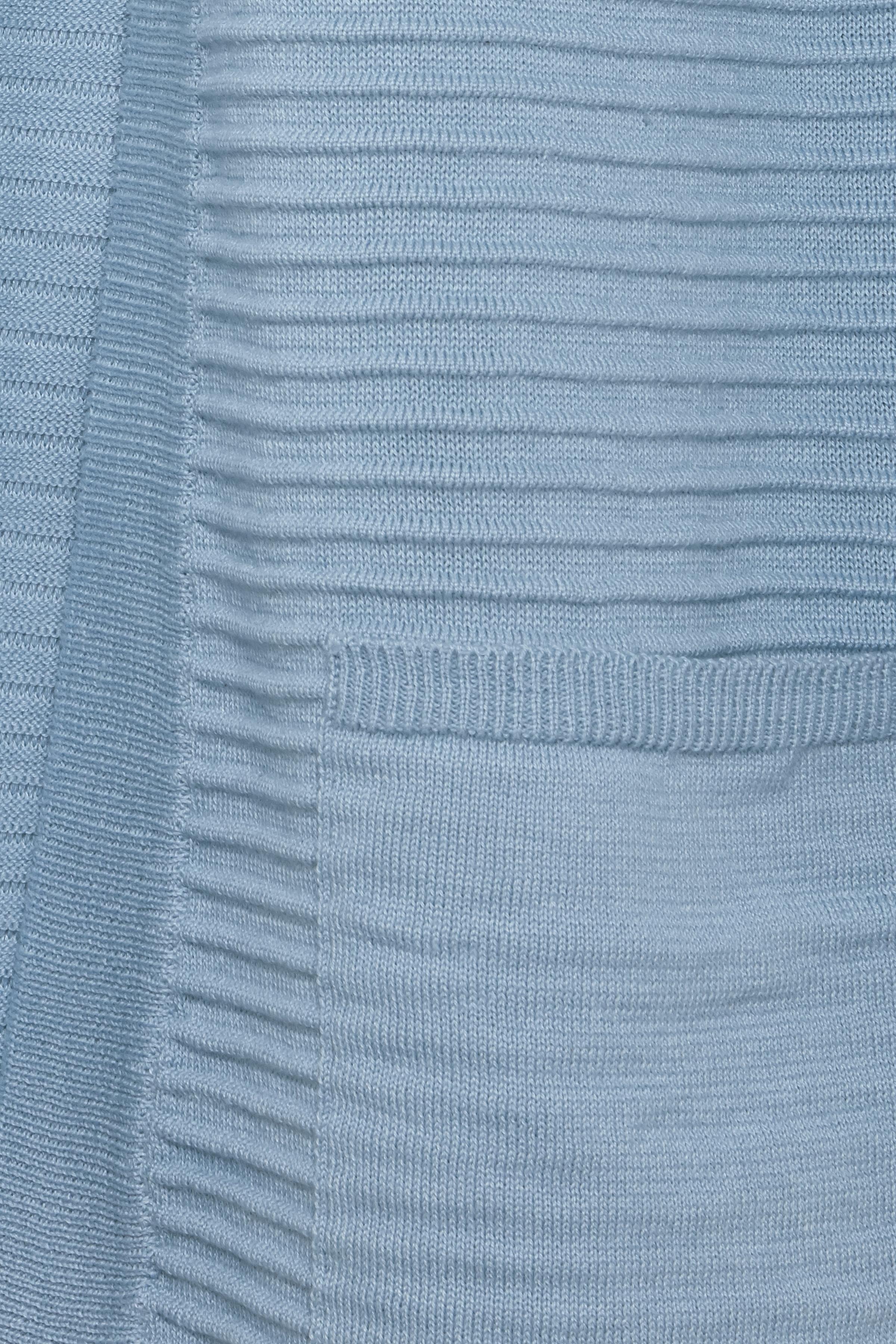 Støvet blå Strikcardigan fra Fransa – Køb Støvet blå Strikcardigan fra str. XS-XXL her