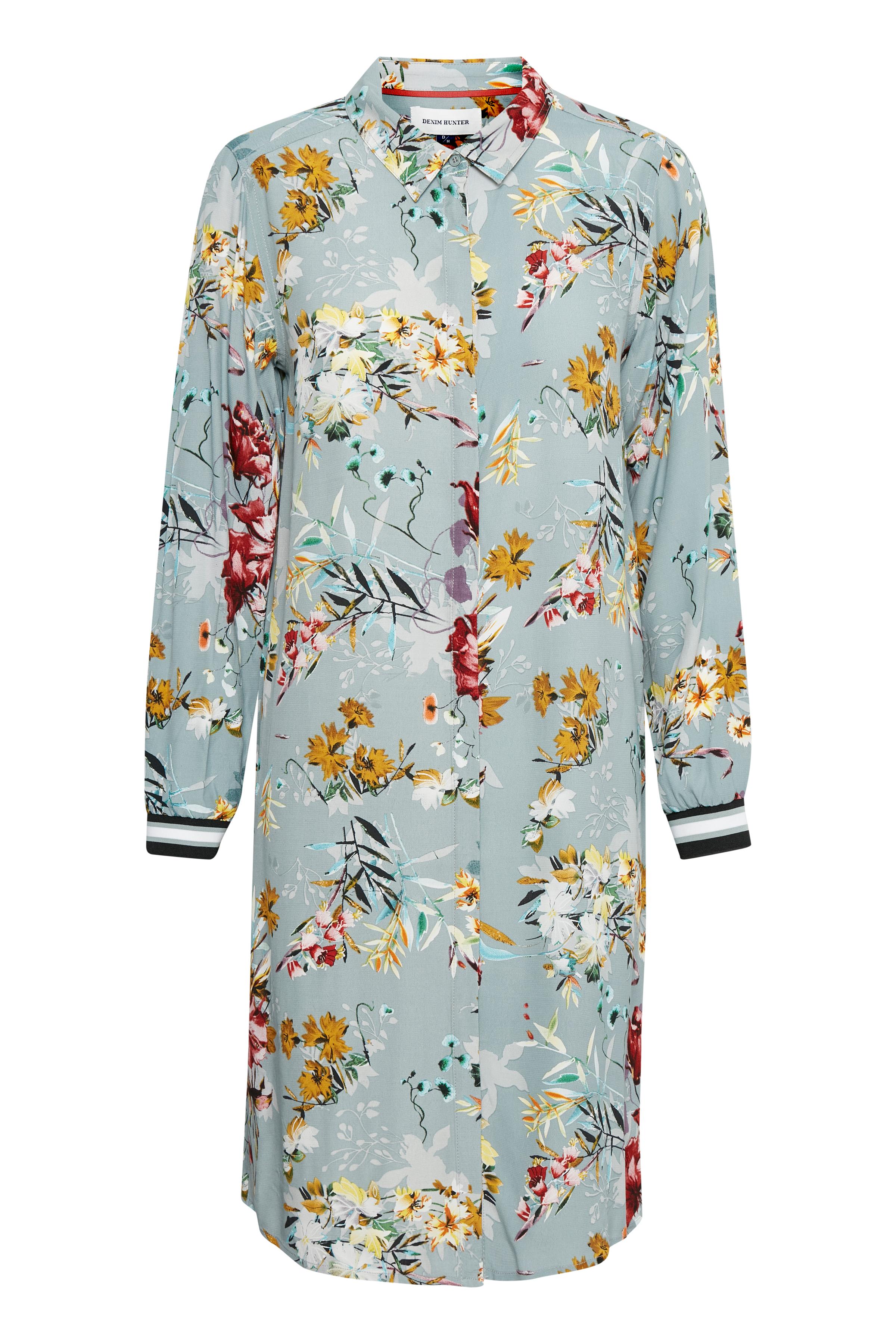 Støvet grøn/karry Langærmet skjorte fra Denim Hunter – Køb Støvet grøn/karry Langærmet skjorte fra str. 34-46 her