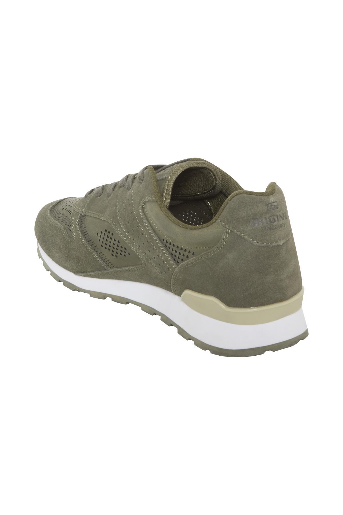 Støvet olivengrøn Sko fra Blend He Shoes – Køb Støvet olivengrøn Sko fra str. 40-46 her