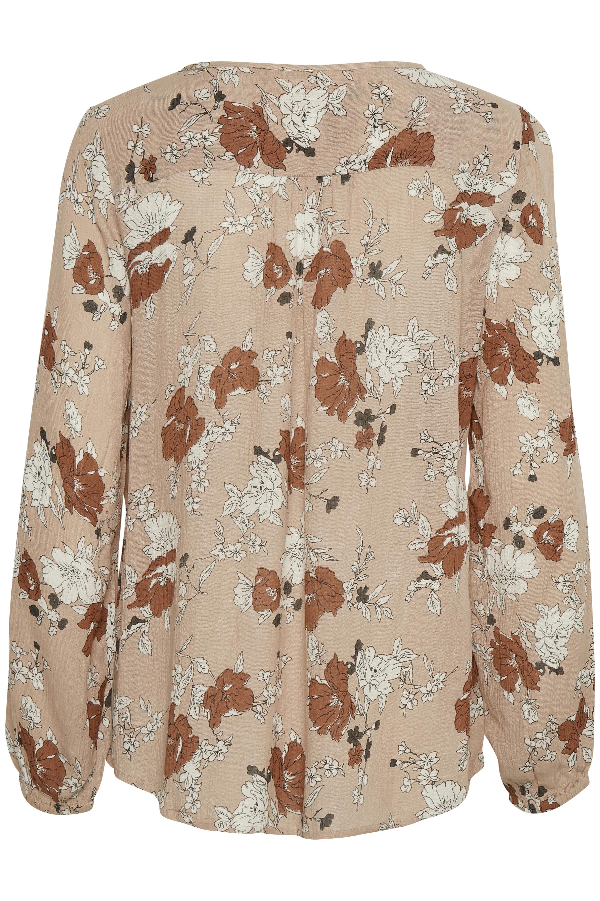 Støvet rosa Langærmet bluse fra Bon'A Parte – Køb Støvet rosa Langærmet bluse fra str. S-2XL her