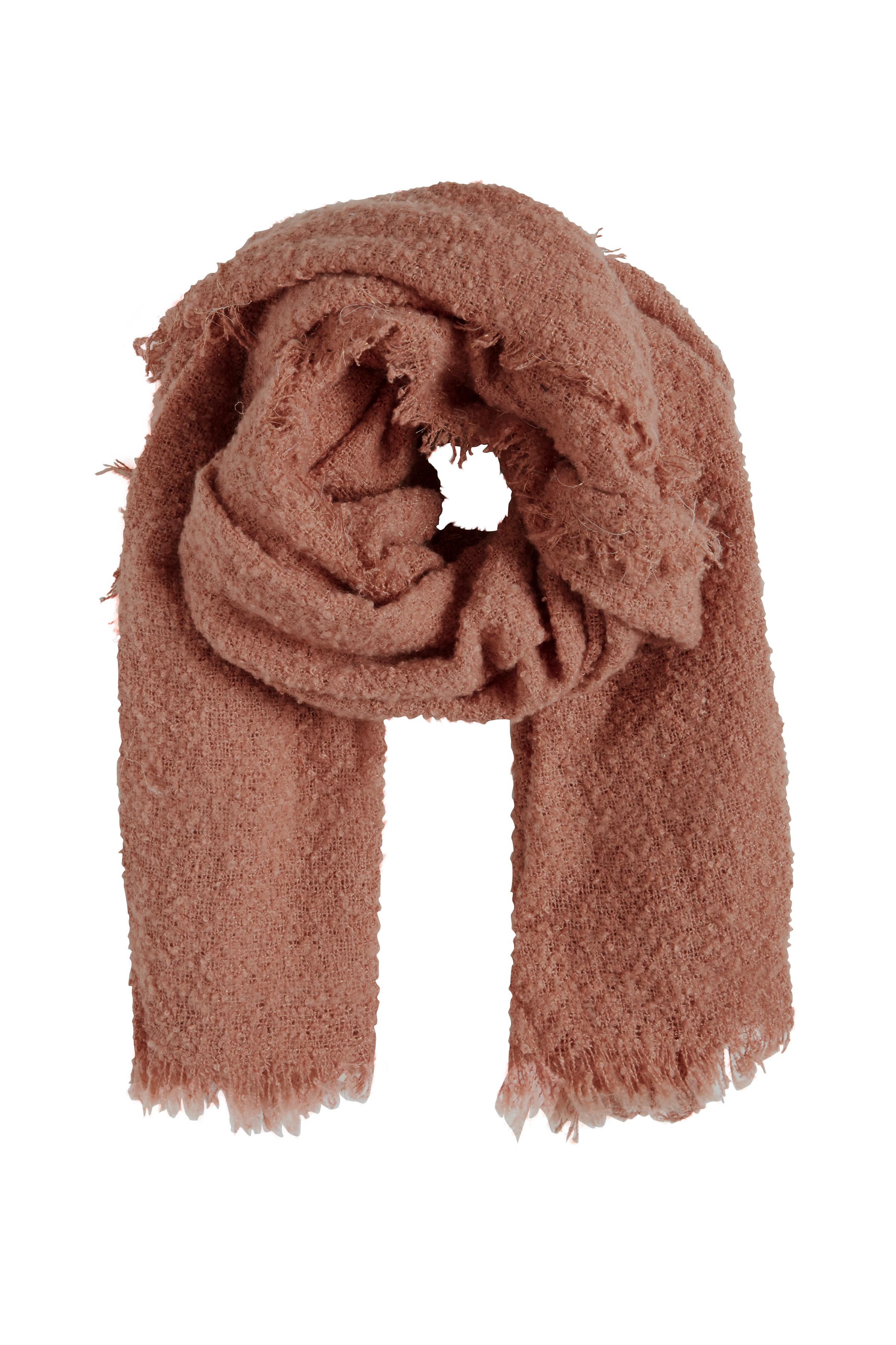 Støvet rosa Tørklæde fra Ichi - accessories – Køb Støvet rosa Tørklæde fra str. ONE her