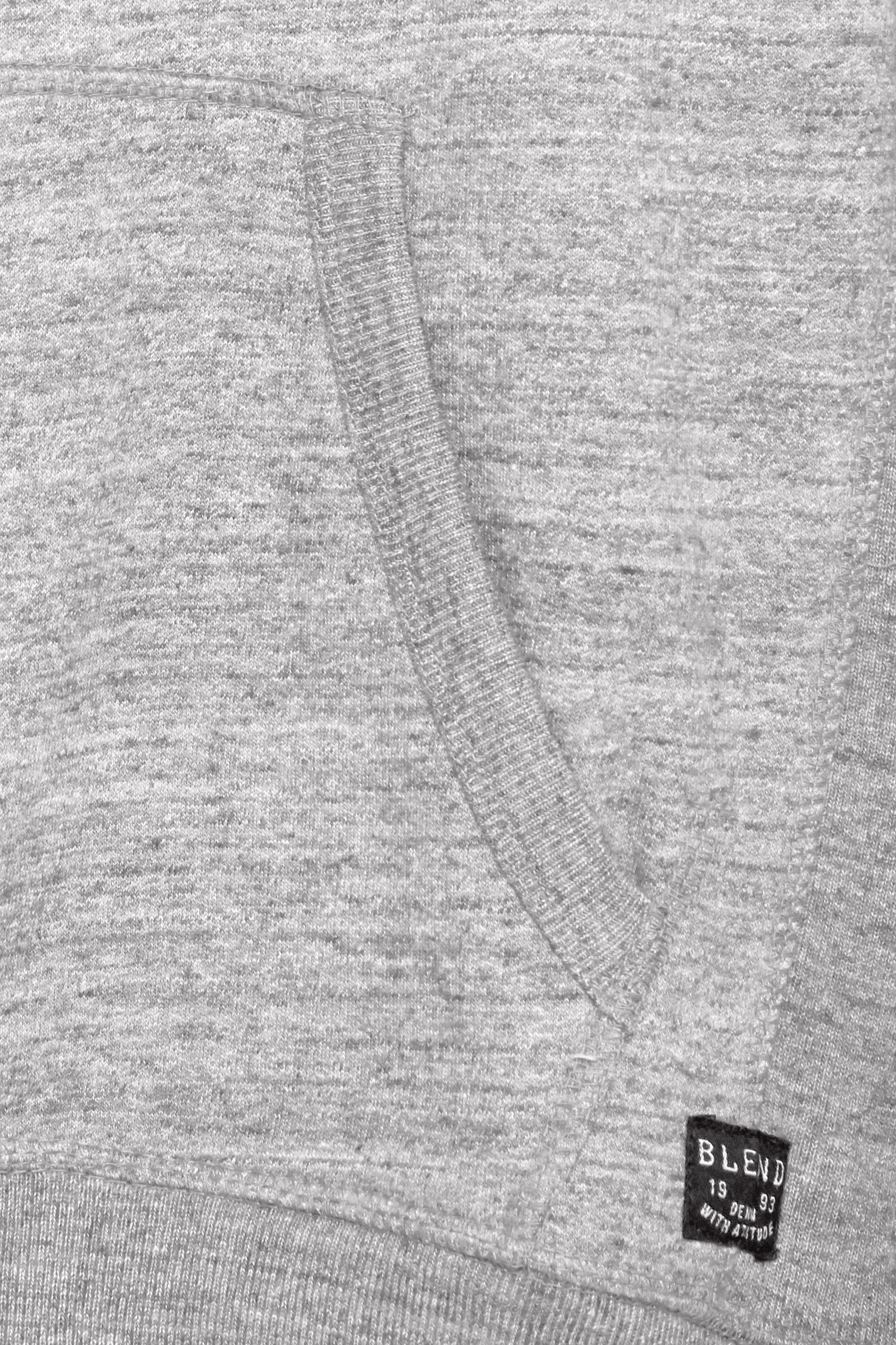 Stone mix Hættetrøje med lynlås fra Blend He – Køb Stone mix Hættetrøje med lynlås fra str. S-3XL her