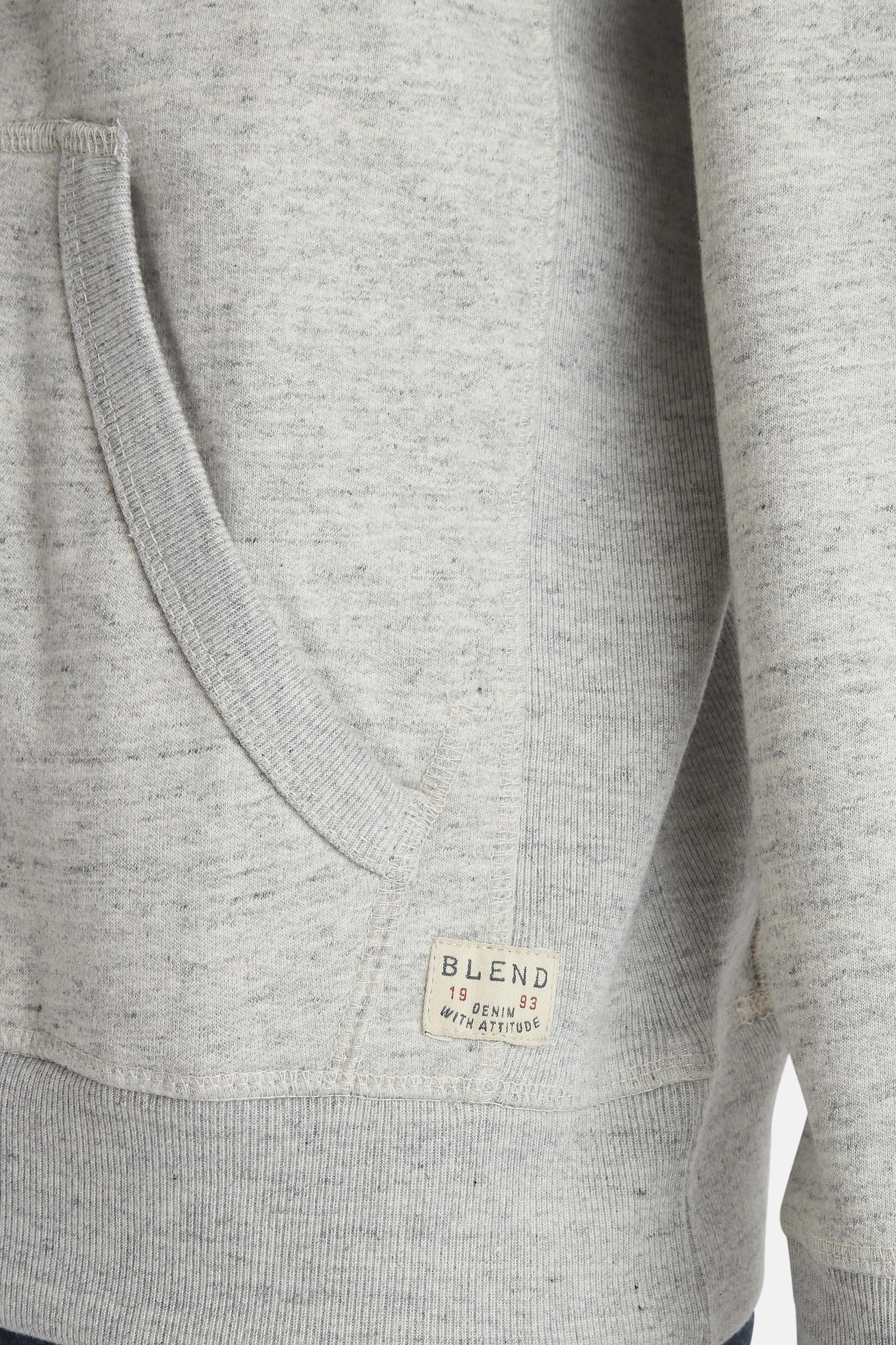 Stone mix Sweatshirt met capuchon van Blend He – Door Stone mix Sweatshirt met capuchon van maat. S-3XL hier