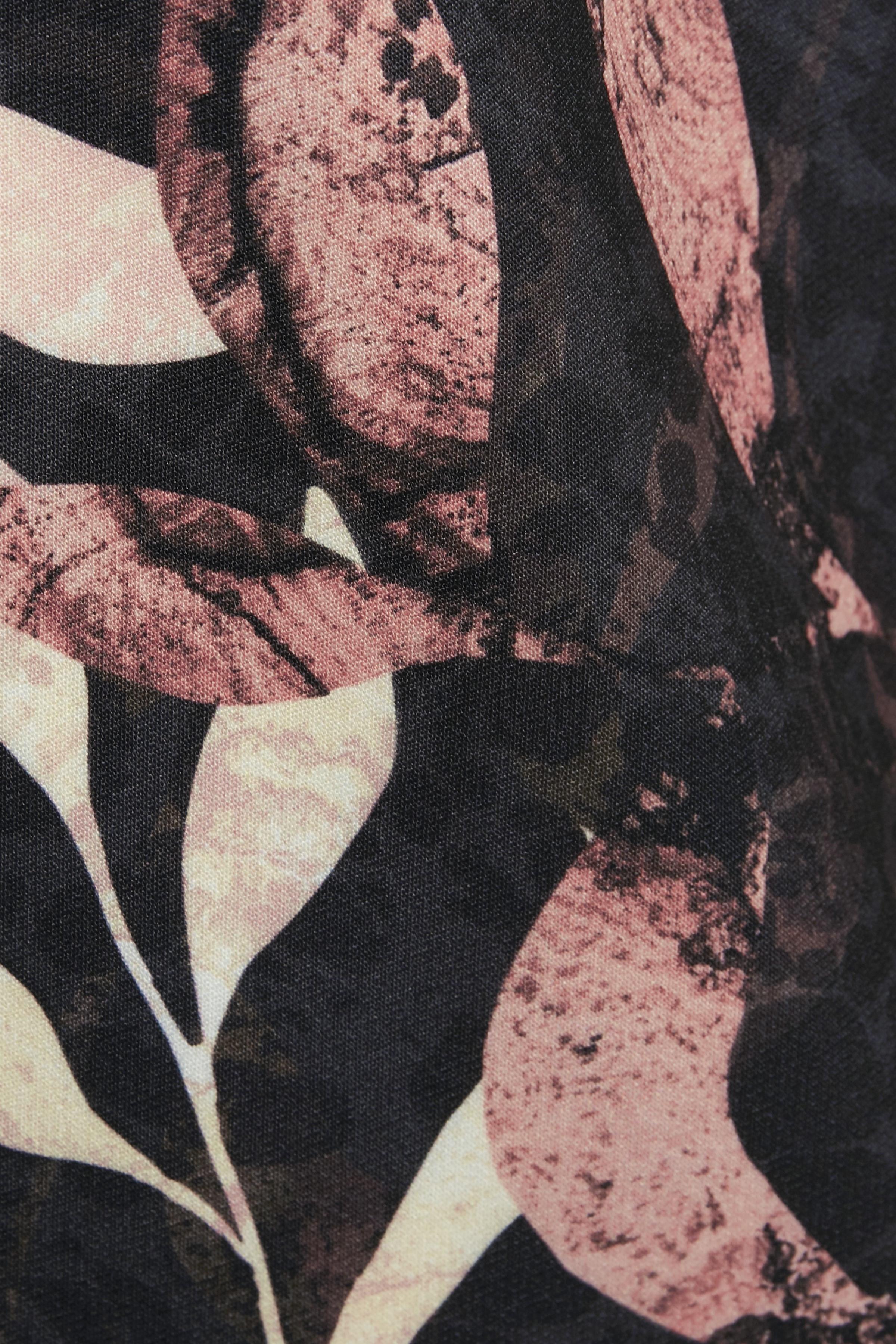 Svart/brun. Klänning från Cream – Köp Svart/brun. Klänning från stl. 34-46 här