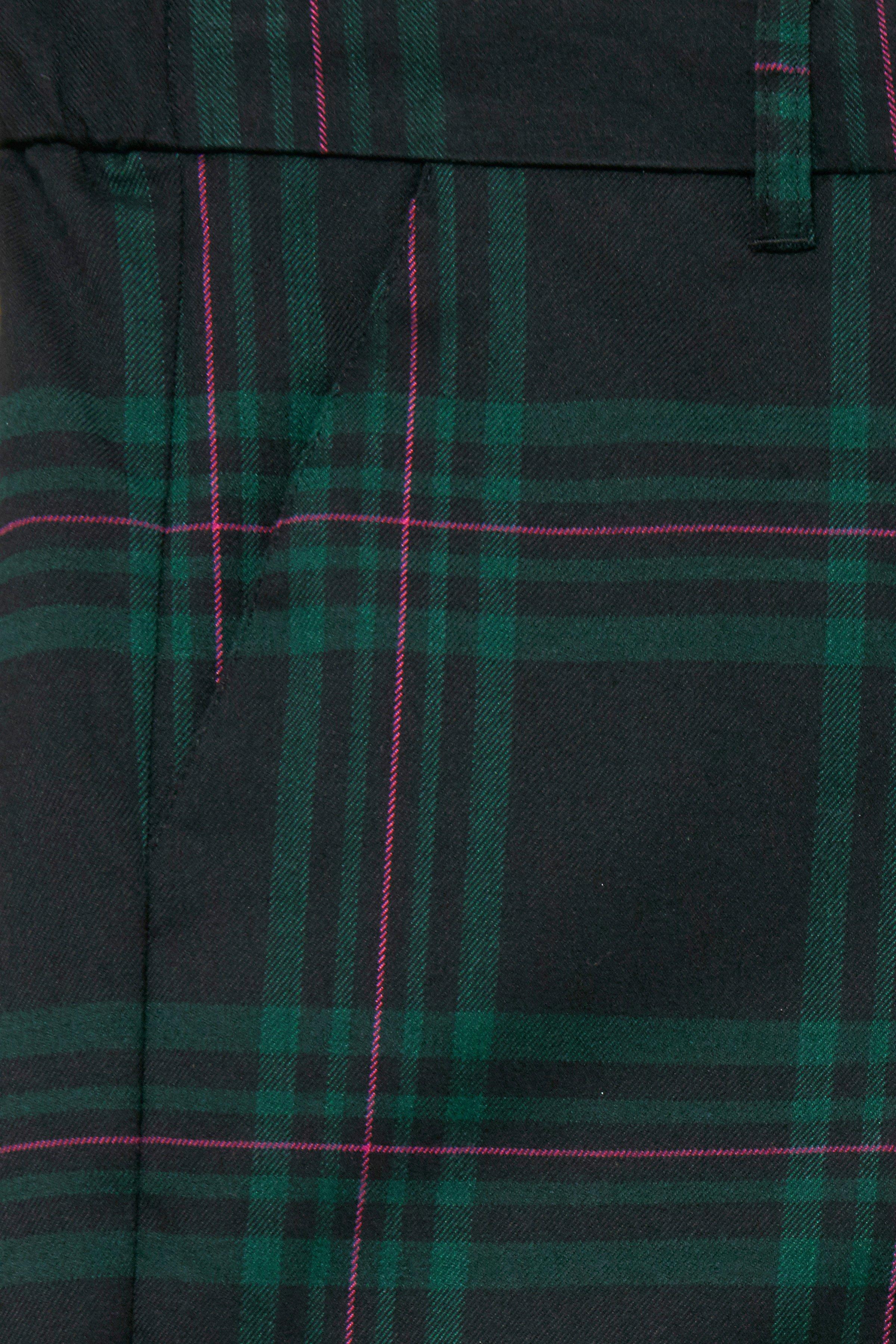 Svart/buteljgrön Byxor från b.young – Köp Svart/buteljgrön Byxor från stl. 34-46 här
