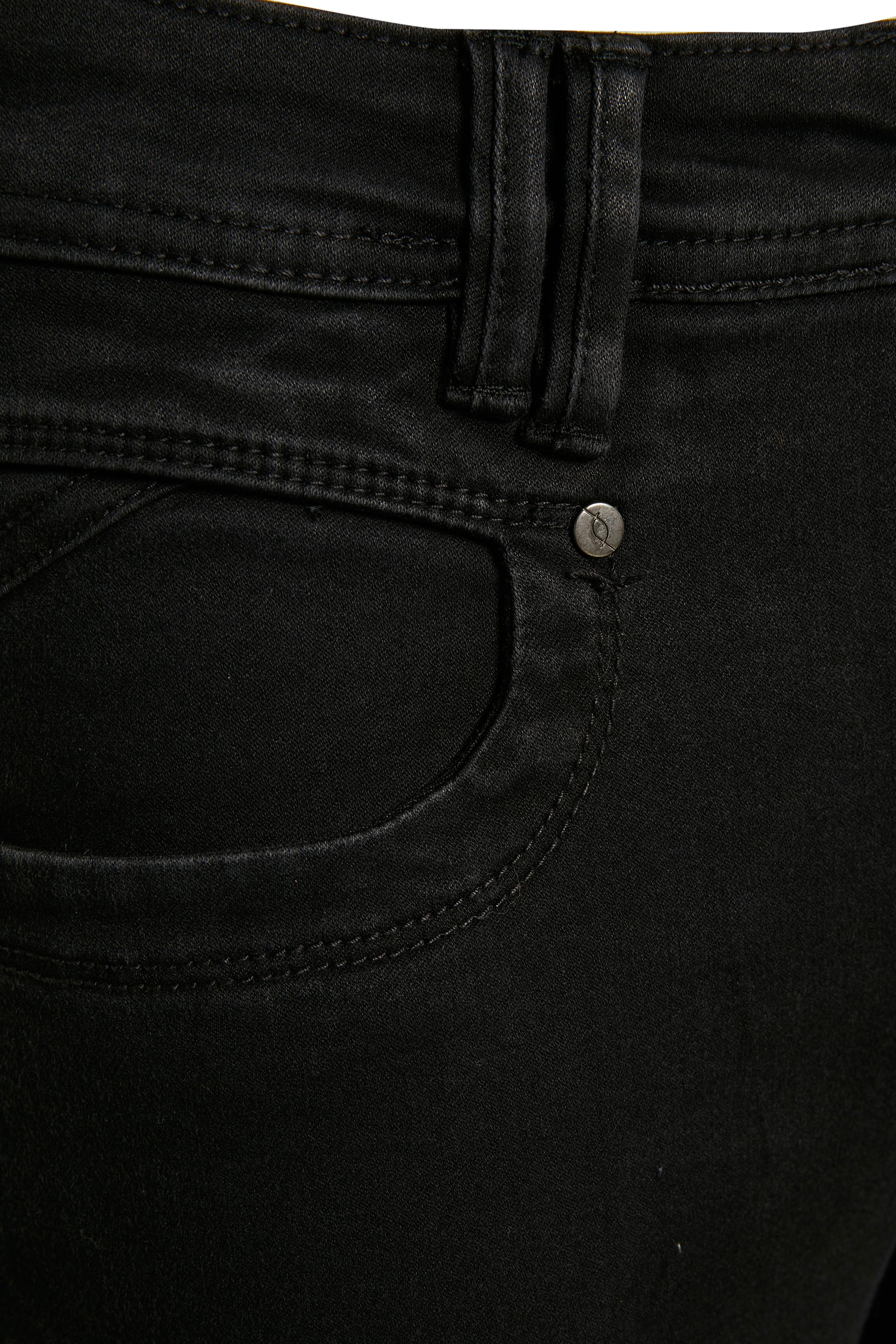 Svart denim Jeans från Fransa – Köp Svart denim Jeans från stl. 34-46 här