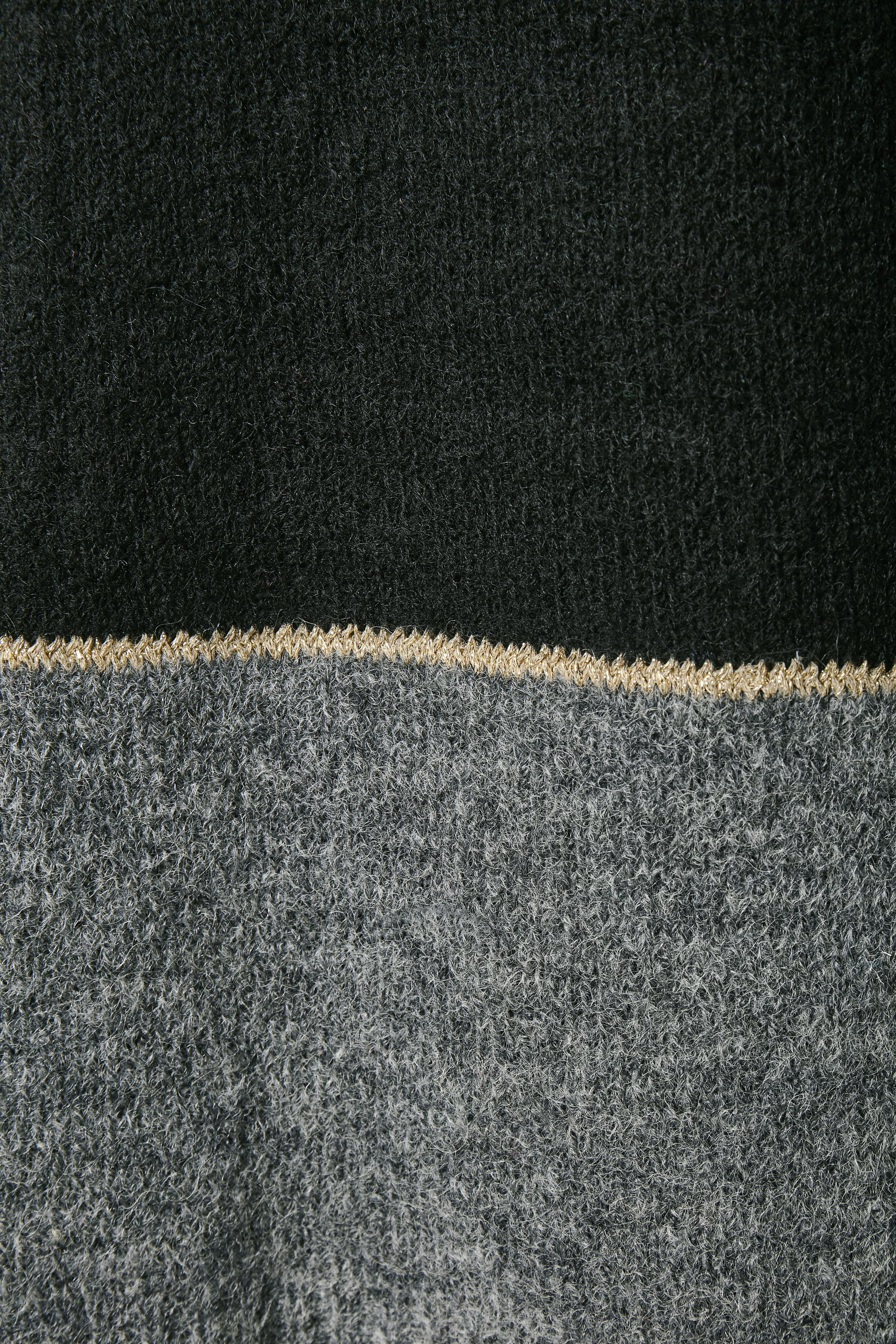Svart/grå Stickad cardigan från Fransa – Köp Svart/grå Stickad cardigan från stl. XS-XXL här