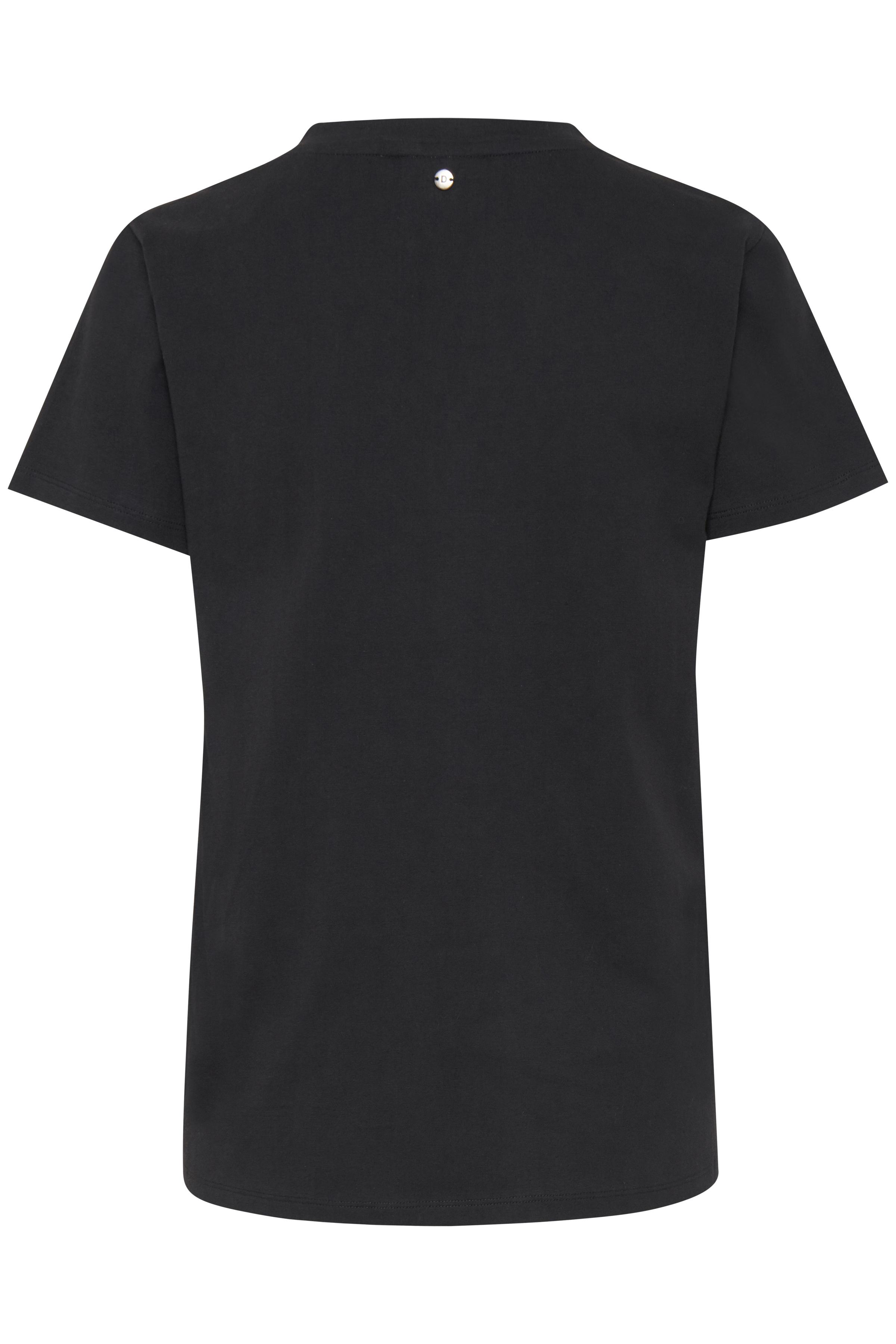 Svart Kortärmad T-shirt från Dranella – Köp Svart Kortärmad T-shirt från stl. XS-XXL här