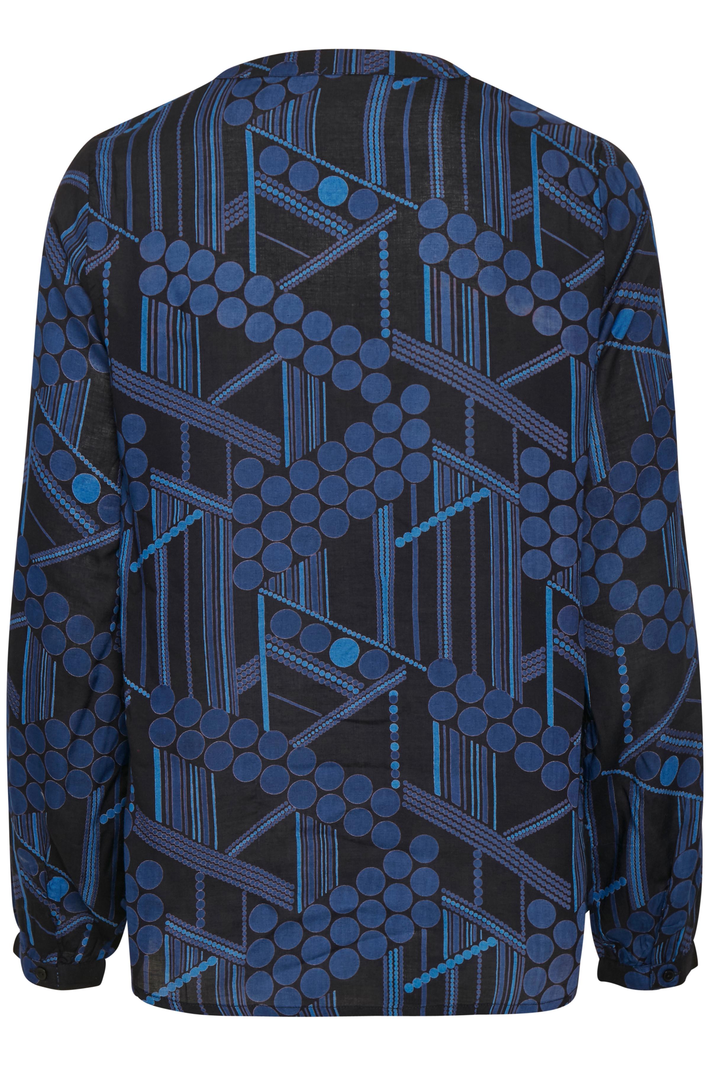Svart Långärmad blus från Kaffe – Köp Svart Långärmad blus från stl. 34-46 här