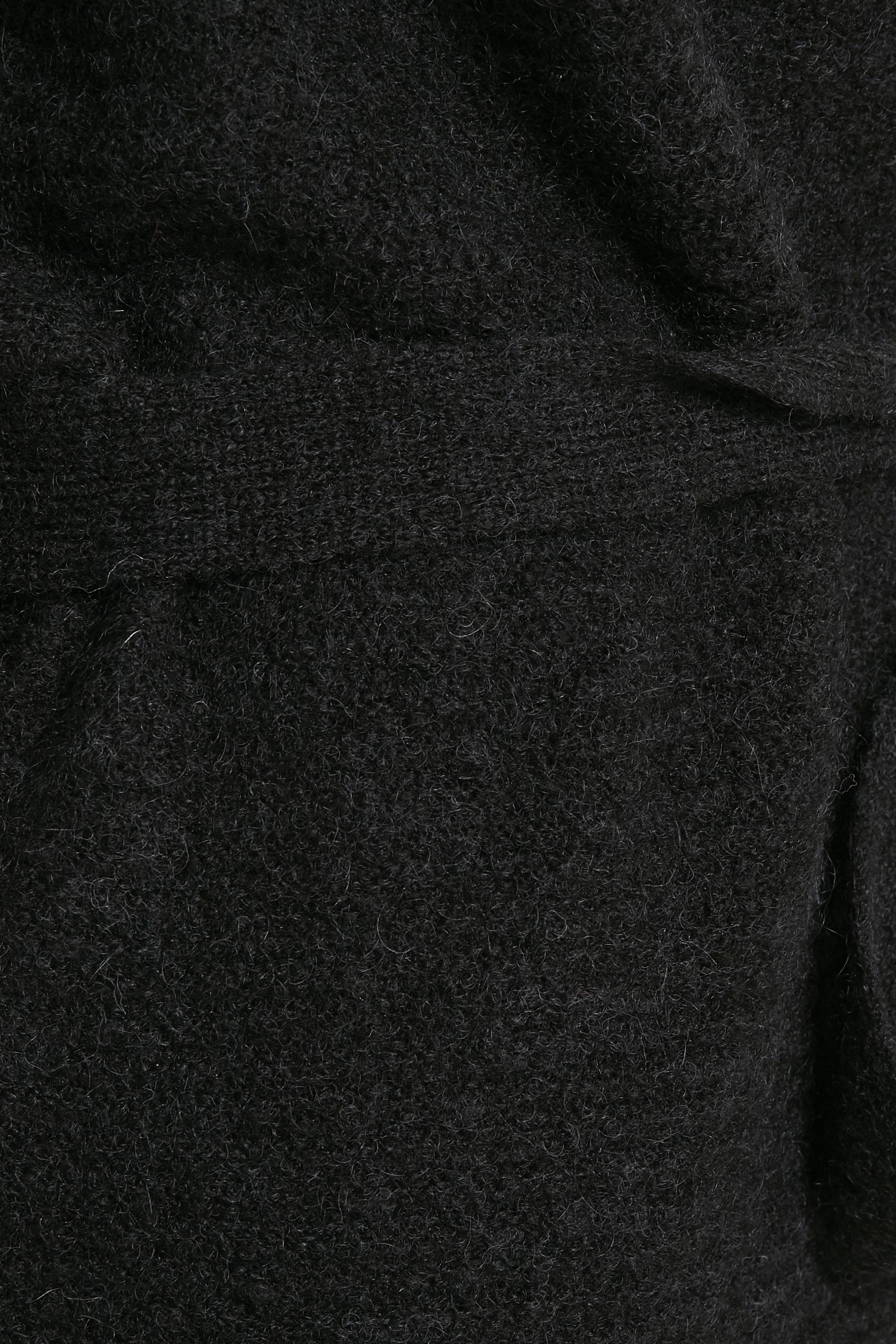 Svart Stickad cardigan från Bon'A Parte – Köp Svart Stickad cardigan från stl. S-2XL här
