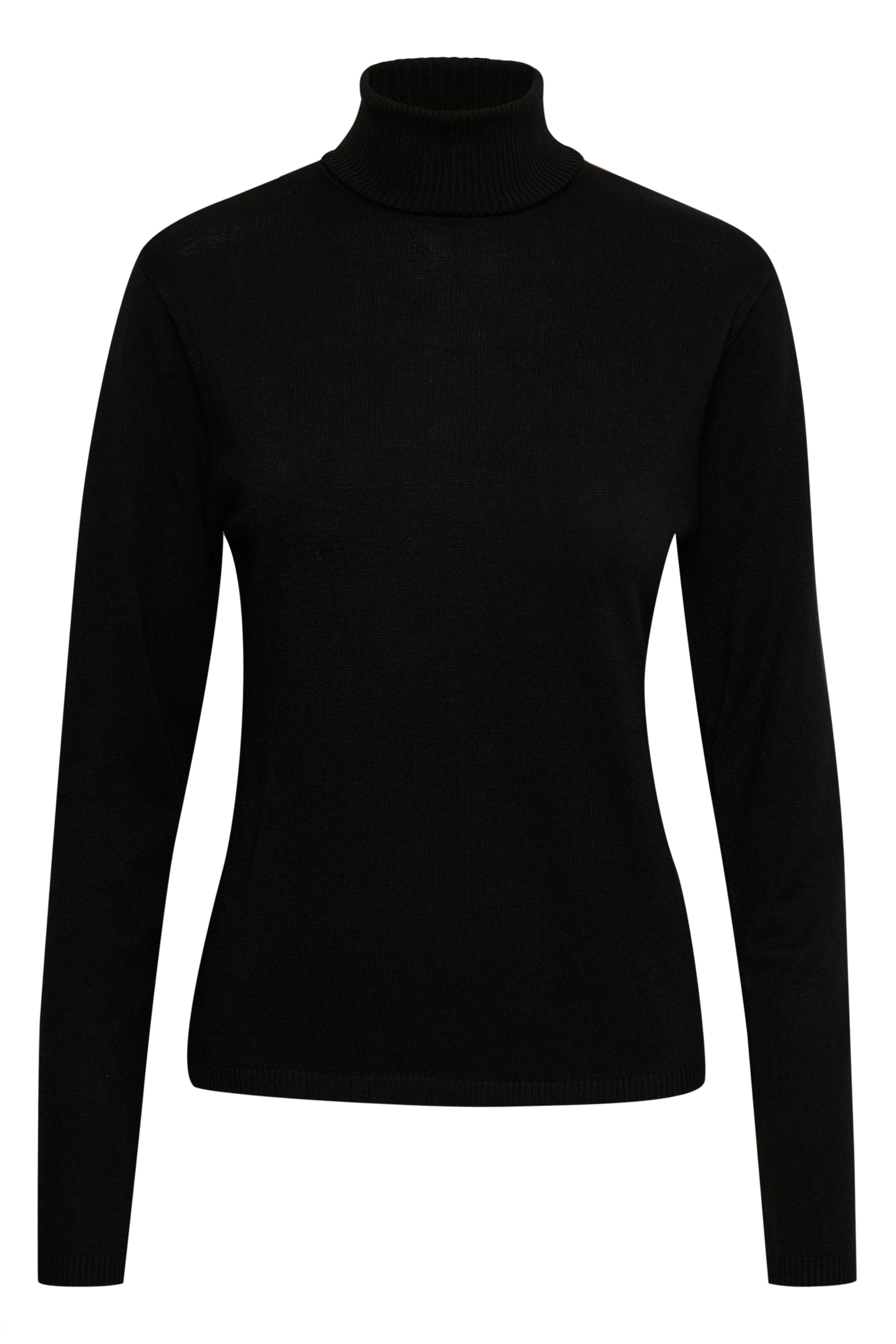 Svart Stickad pullover från Culture – Köp Svart Stickad pullover från stl. XS-XXL här