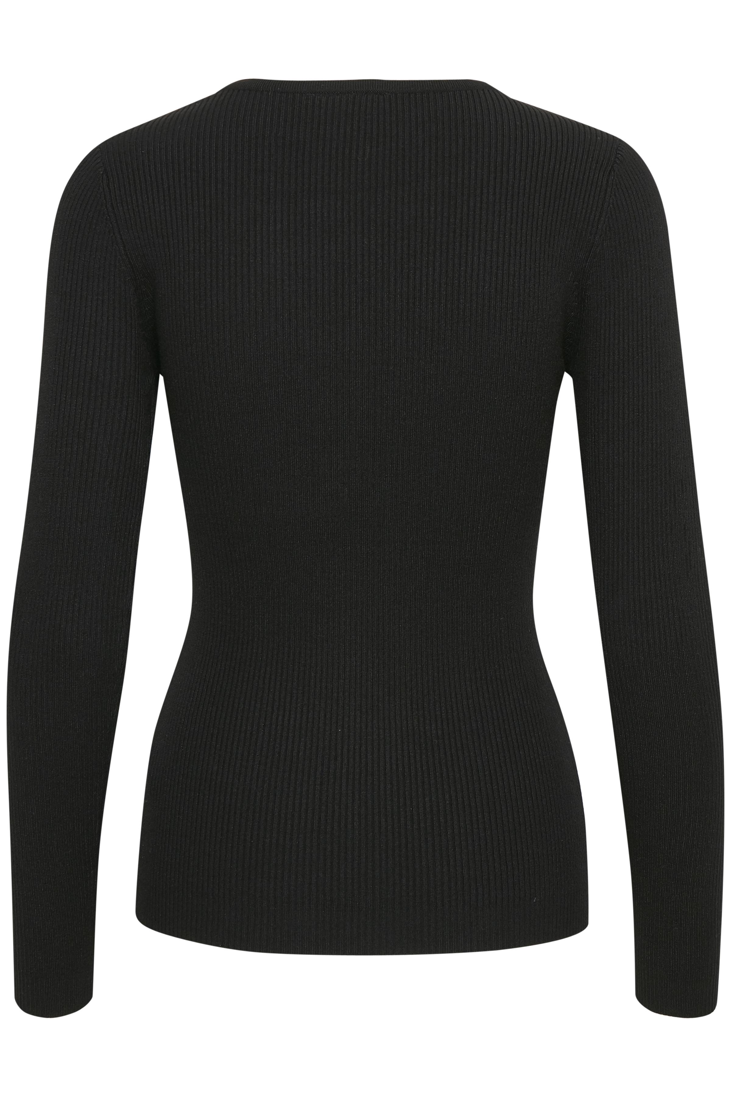 Svart Stickad pullover från Fransa – Köp Svart Stickad pullover från stl. XS-XXL här