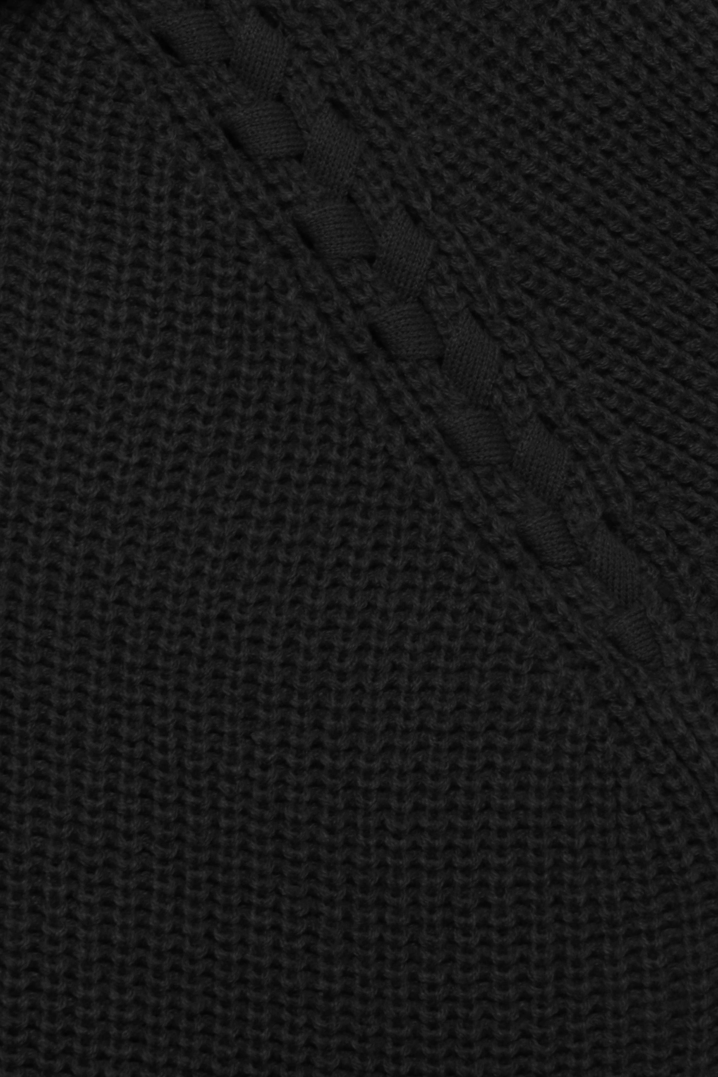 Svart Stickad pullover från b.young – Köp Svart Stickad pullover från stl. XS-XXL här