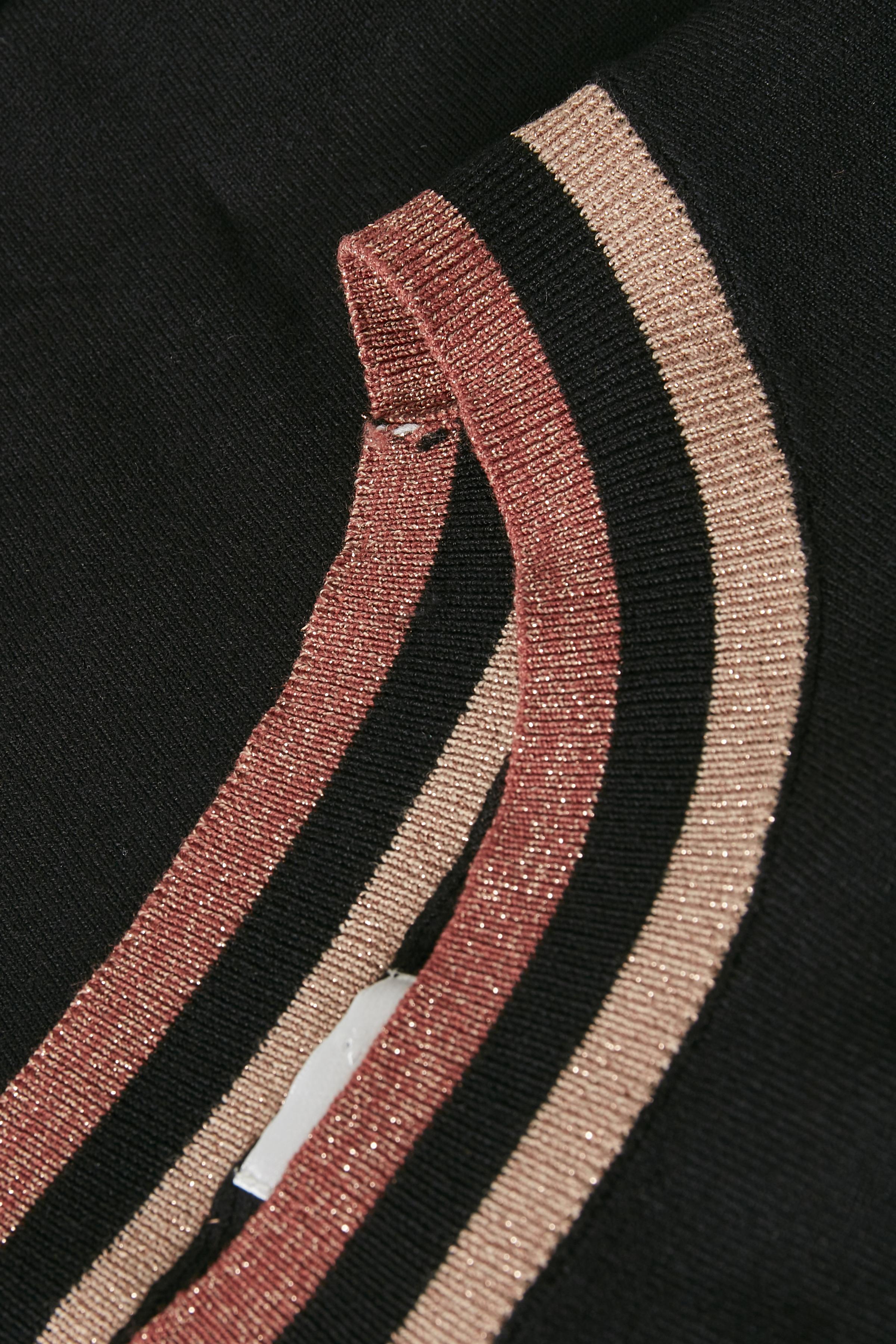 Svart Strickad klänning från Culture – Köp Svart Strickad klänning från stl. XS-XXL här