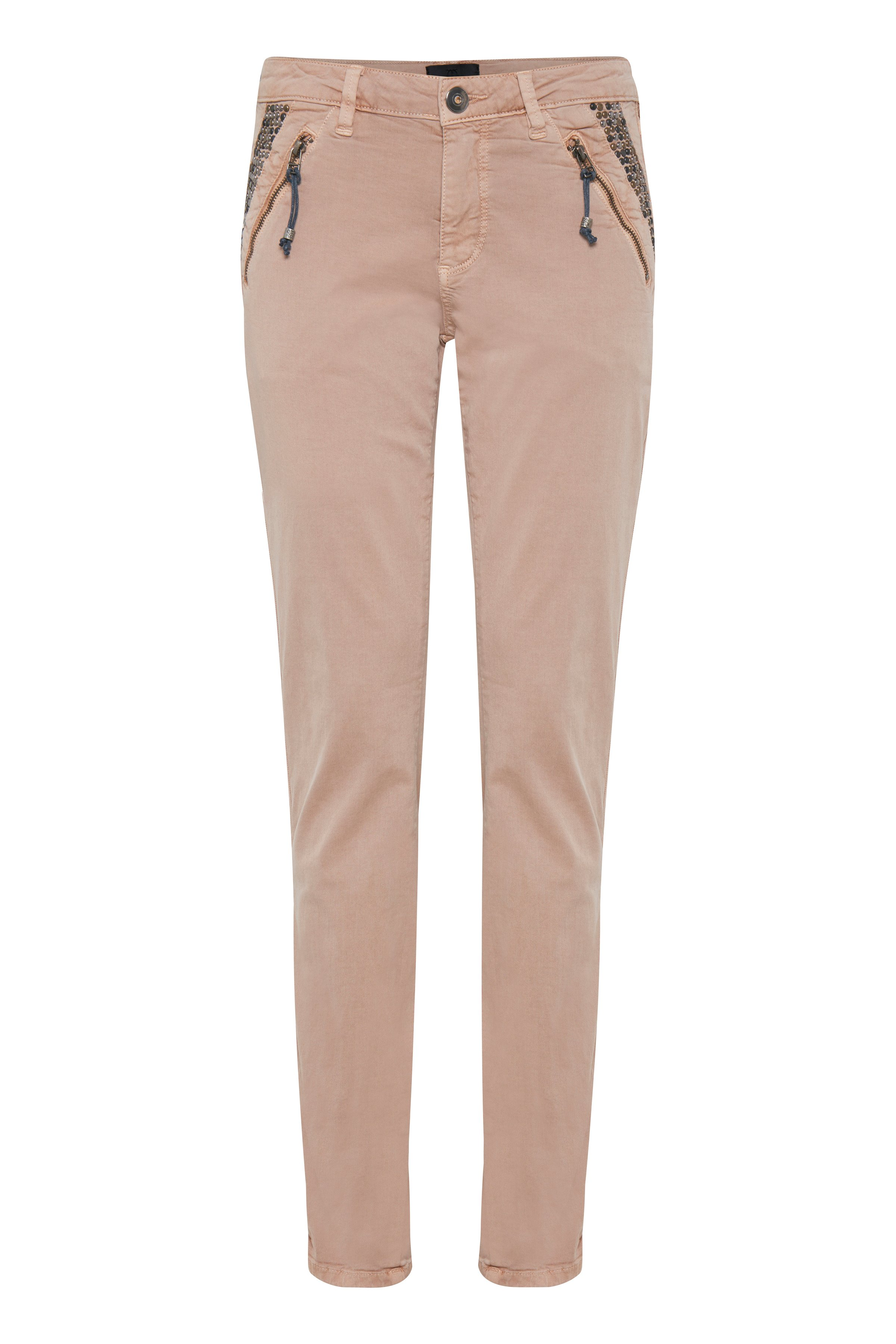 Pulz Jeans Dame Casual broek - Tan