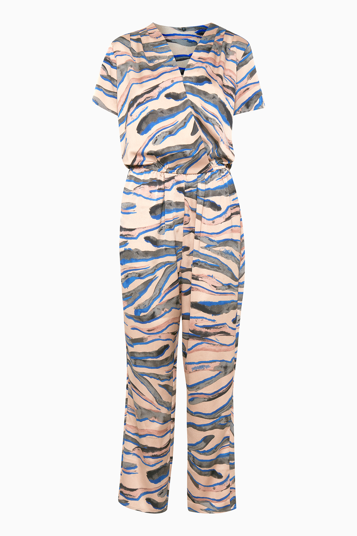 Pulz Jeans Dame Smuk Irena jumpsuit - Tan